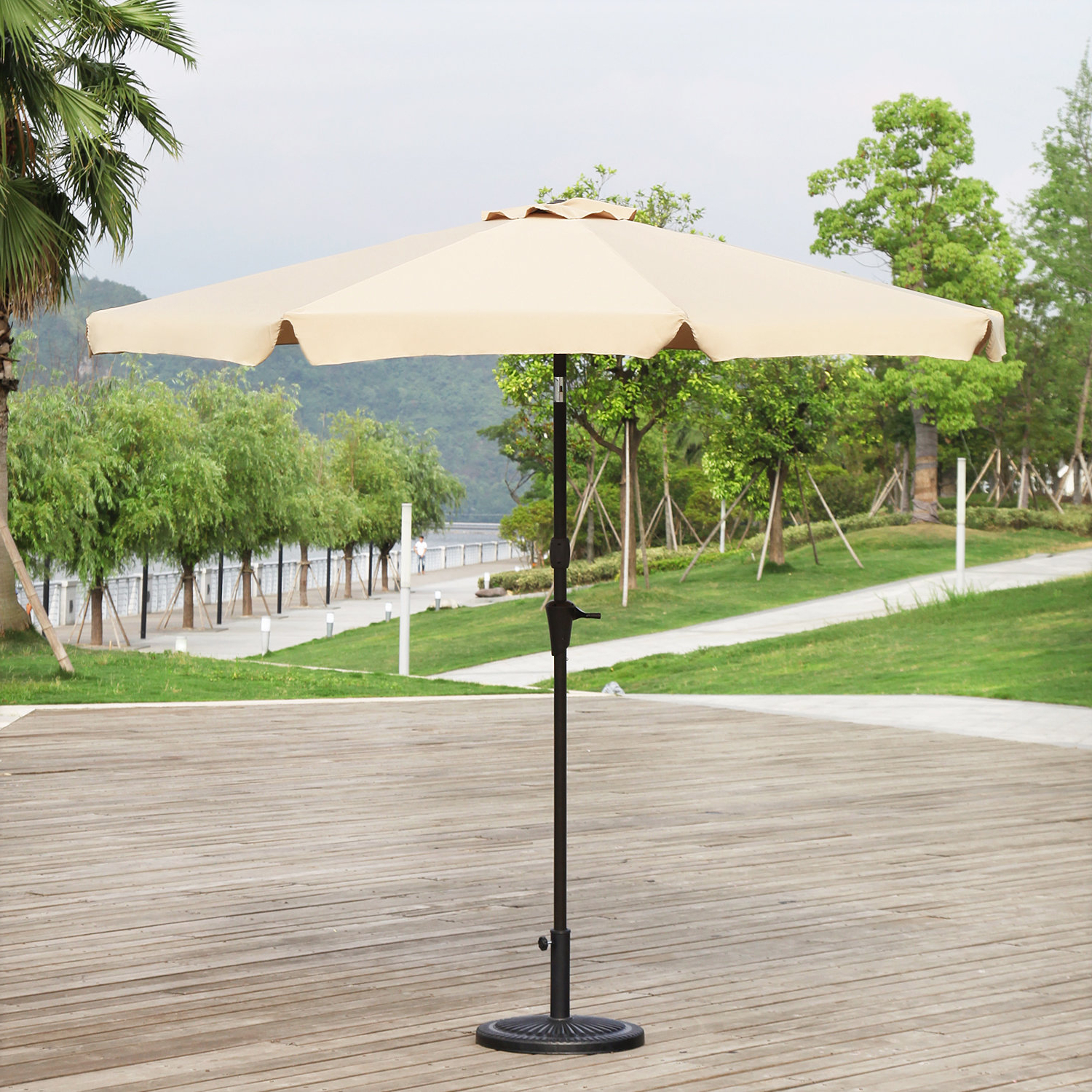 Famous Lakin 9' Drape Umbrella In Devansh Drape Umbrellas (View 8 of 20)