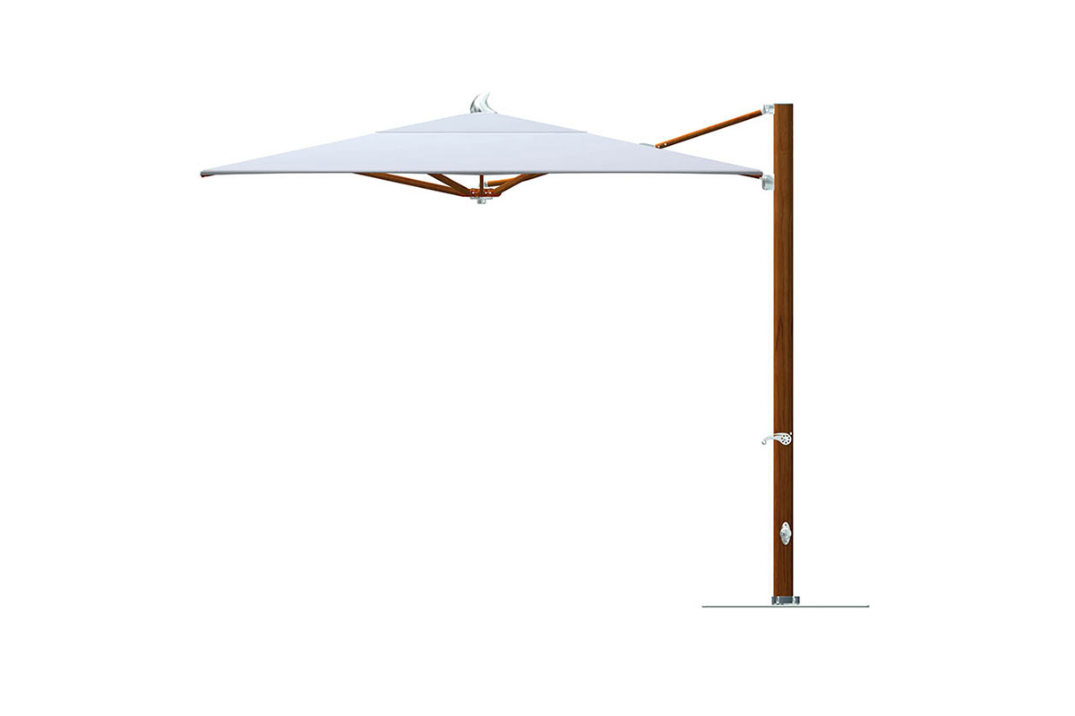 Famous Madalyn Rectangular Market Sunbrella Umbrellas Regarding Tuuci Plantation Max Cantilever Parasol (View 9 of 20)