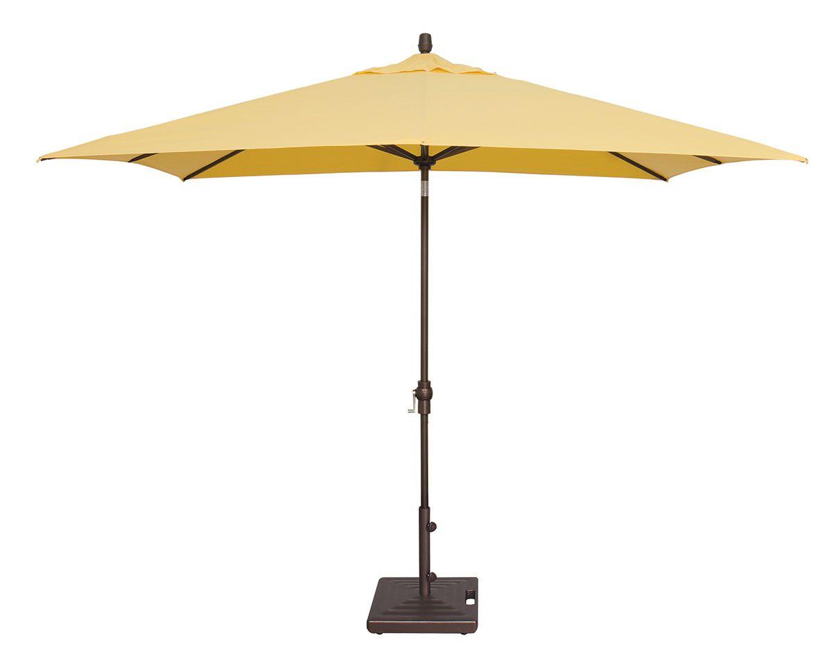 Fashionable 8' X 10' Rectangular Auto Tilt Umbrella Um8810rt Swv Pertaining To Fordwich Rectangular Cantilever Umbrellas (View 15 of 20)