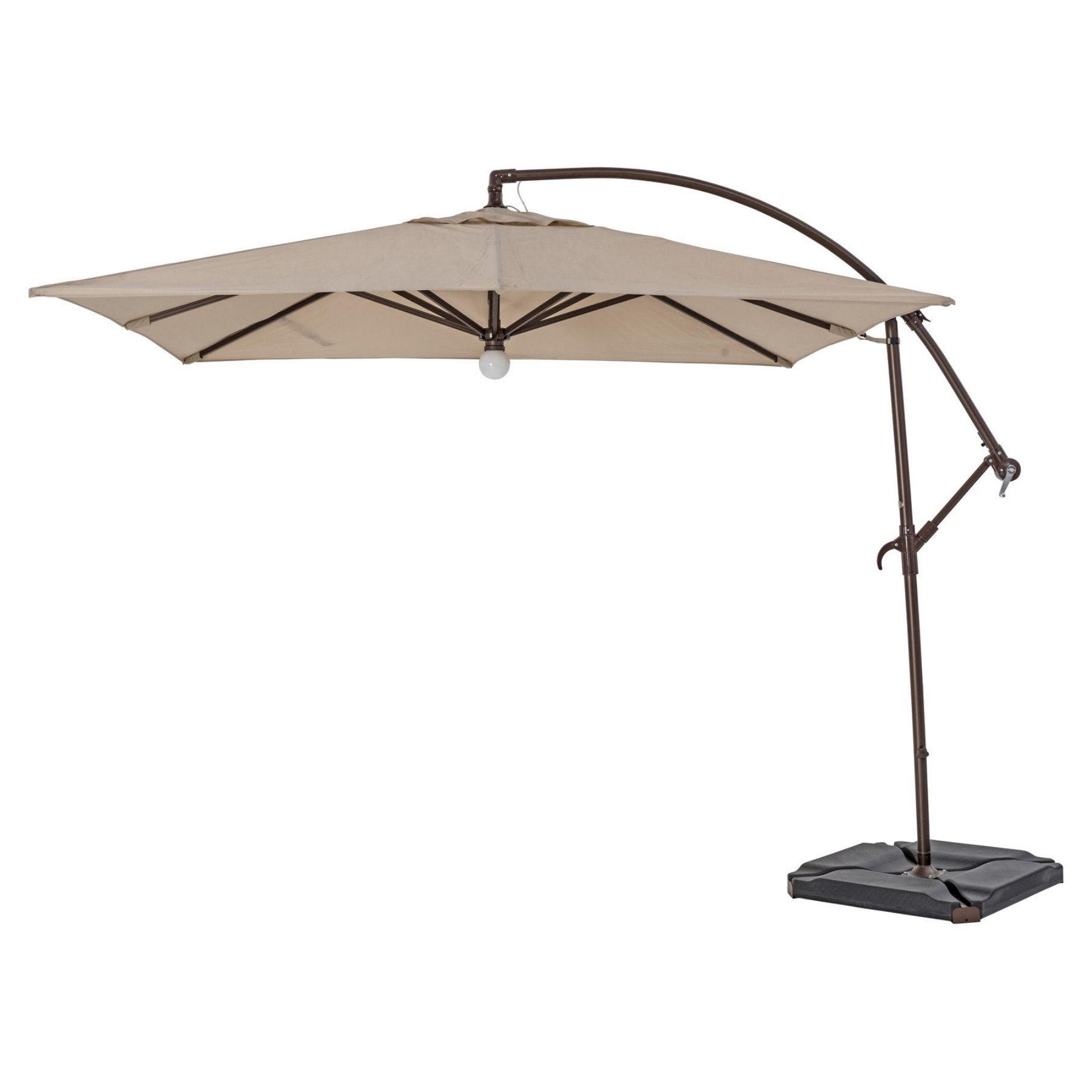 Fashionable Bormann Cantilever Umbrellas Regarding Trueshade Plus 9 X 9 Ft (View 10 of 20)