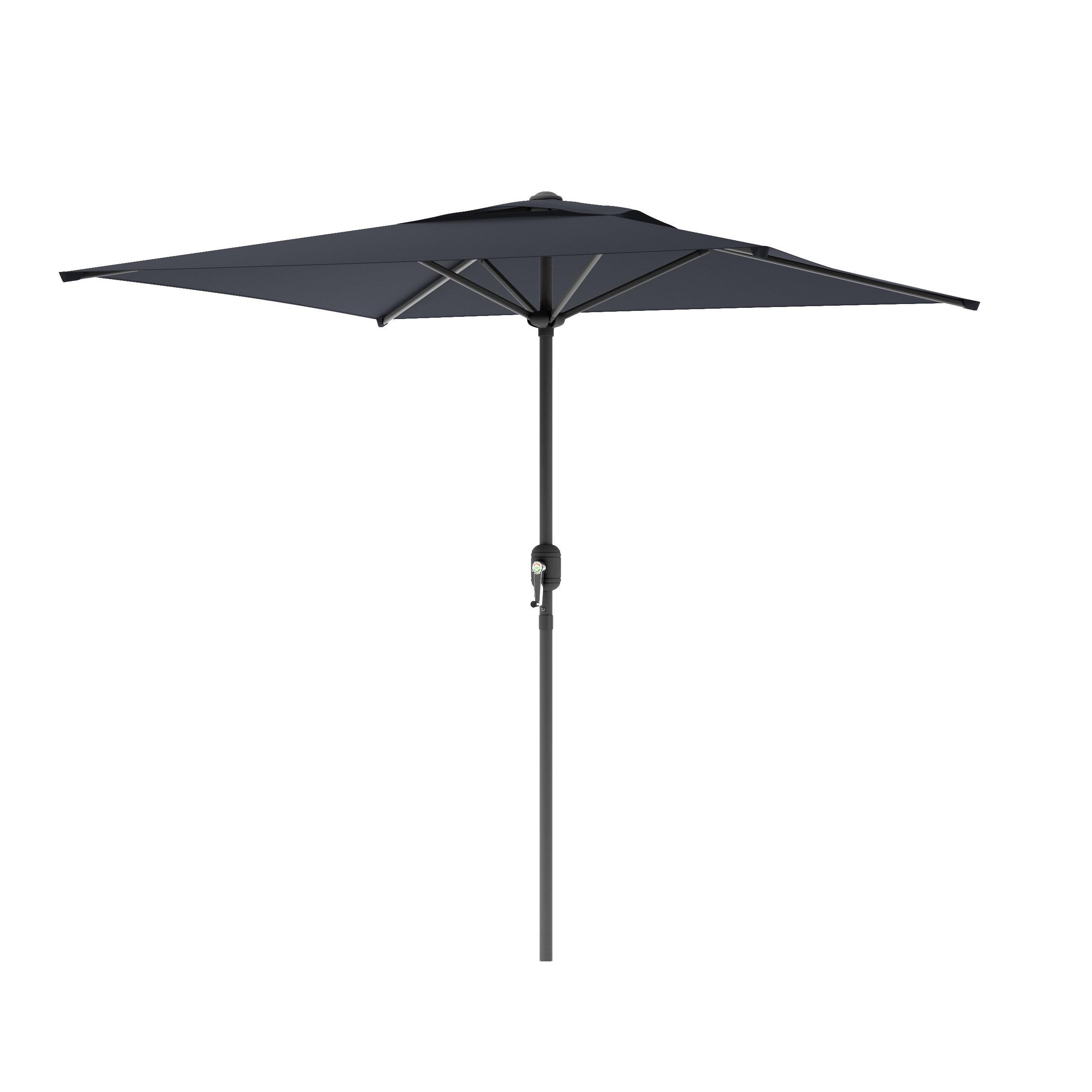 Fashionable Bradford Patio Market Umbrellas With Crowborough 9' Square Market Umbrella (View 12 of 20)