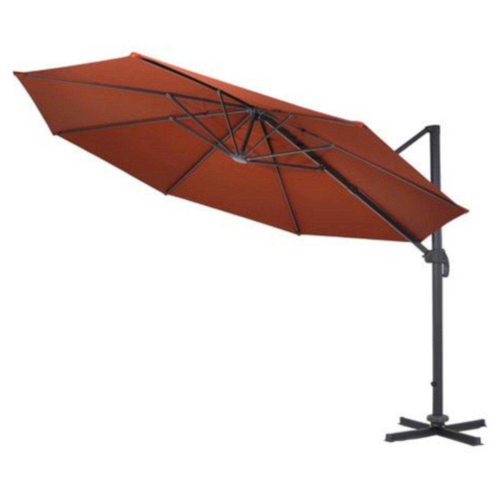 Fashionable Coolaroo Cantilever Umbrellas In Coolaroo 12 Ft (View 13 of 20)
