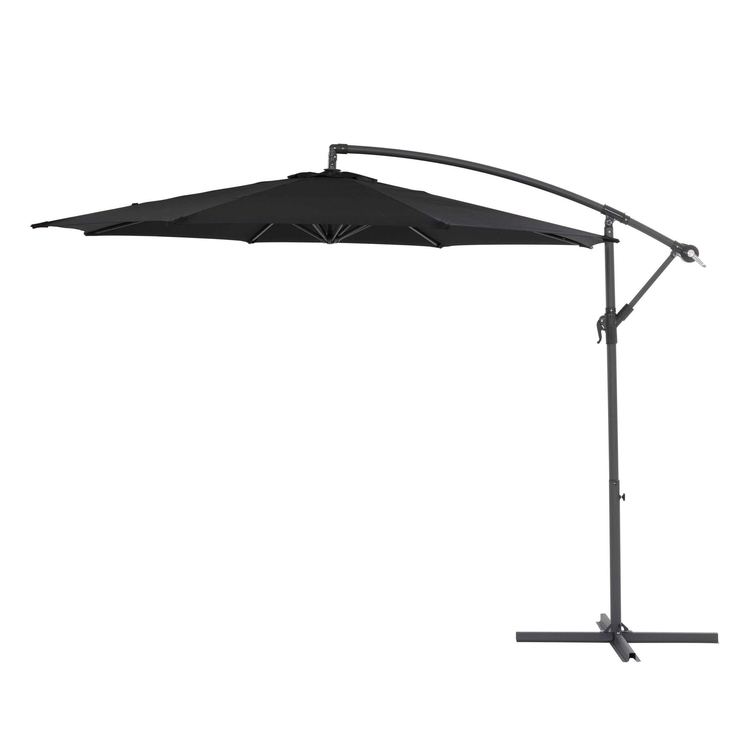 Fashionable Ketcham Cantilever Umbrellas Regarding Freda (View 17 of 20)