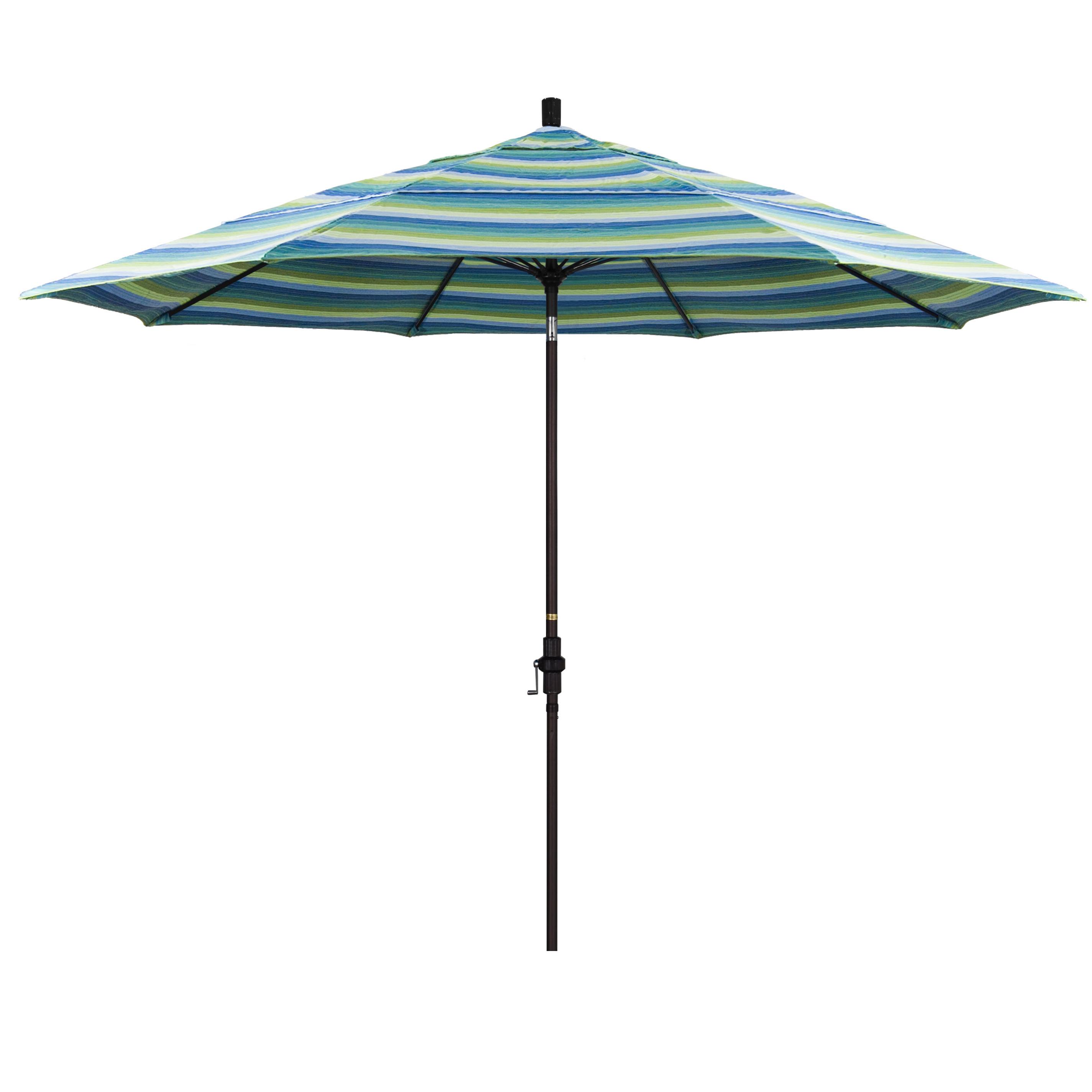 Fashionable Muldoon 11' Market Sunbrella Umbrella With Regard To Muldoon Market Umbrellas (View 4 of 20)