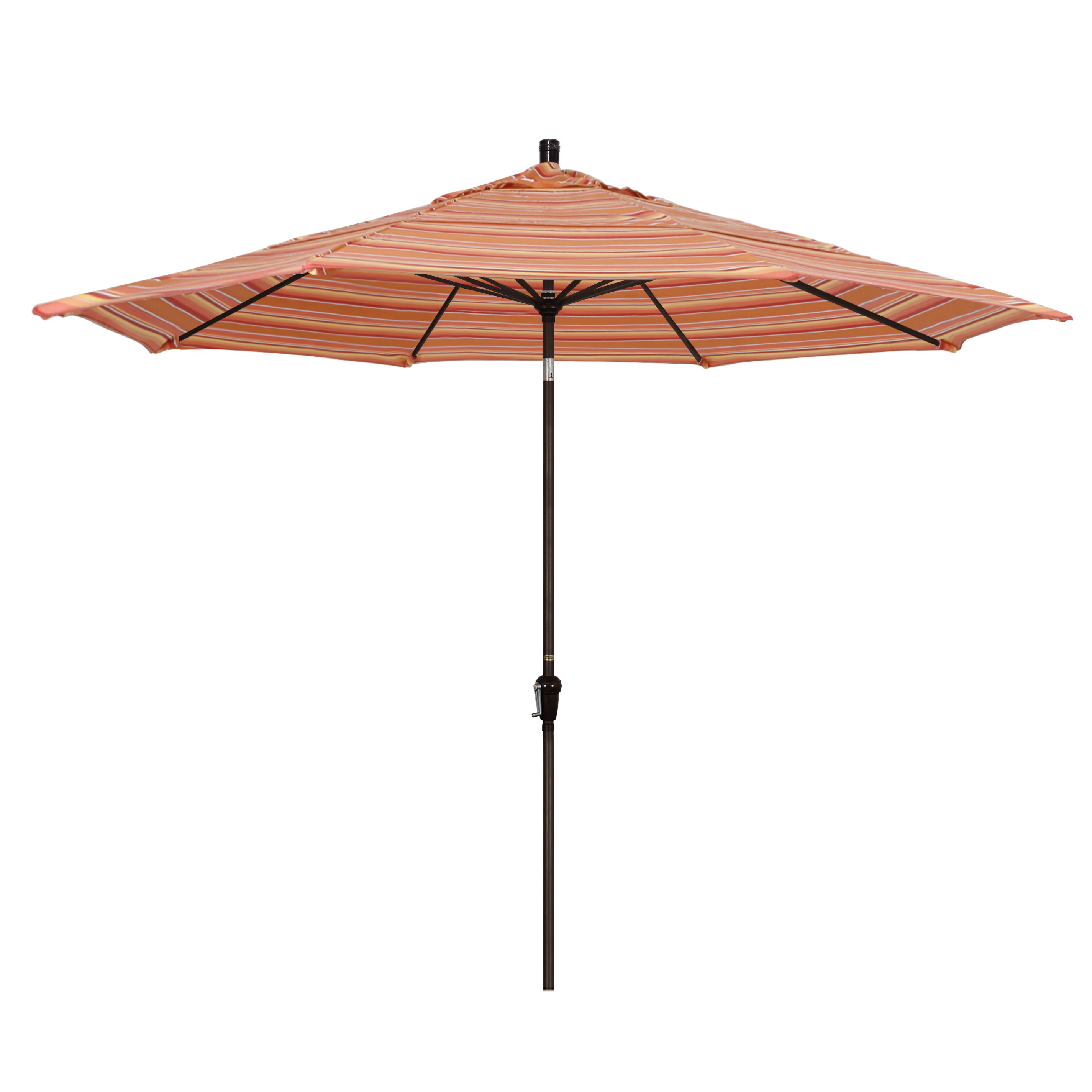 Fashionable Mullaney 11' Market Sunbrella Umbrella Regarding Mullaney Market Umbrellas (View 7 of 20)