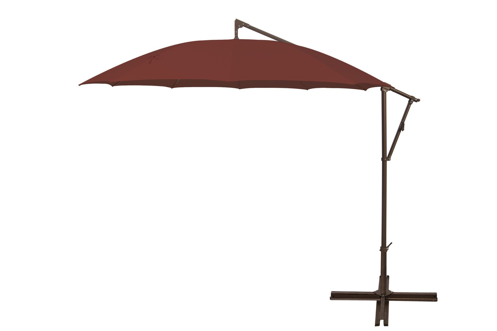 Favorite 10' Round Cantilever Umbrella (View 14 of 20)