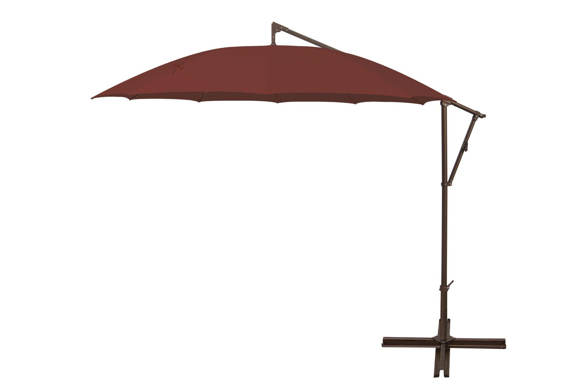Favorite 10' Round Cantilever Umbrella (View 19 of 20)