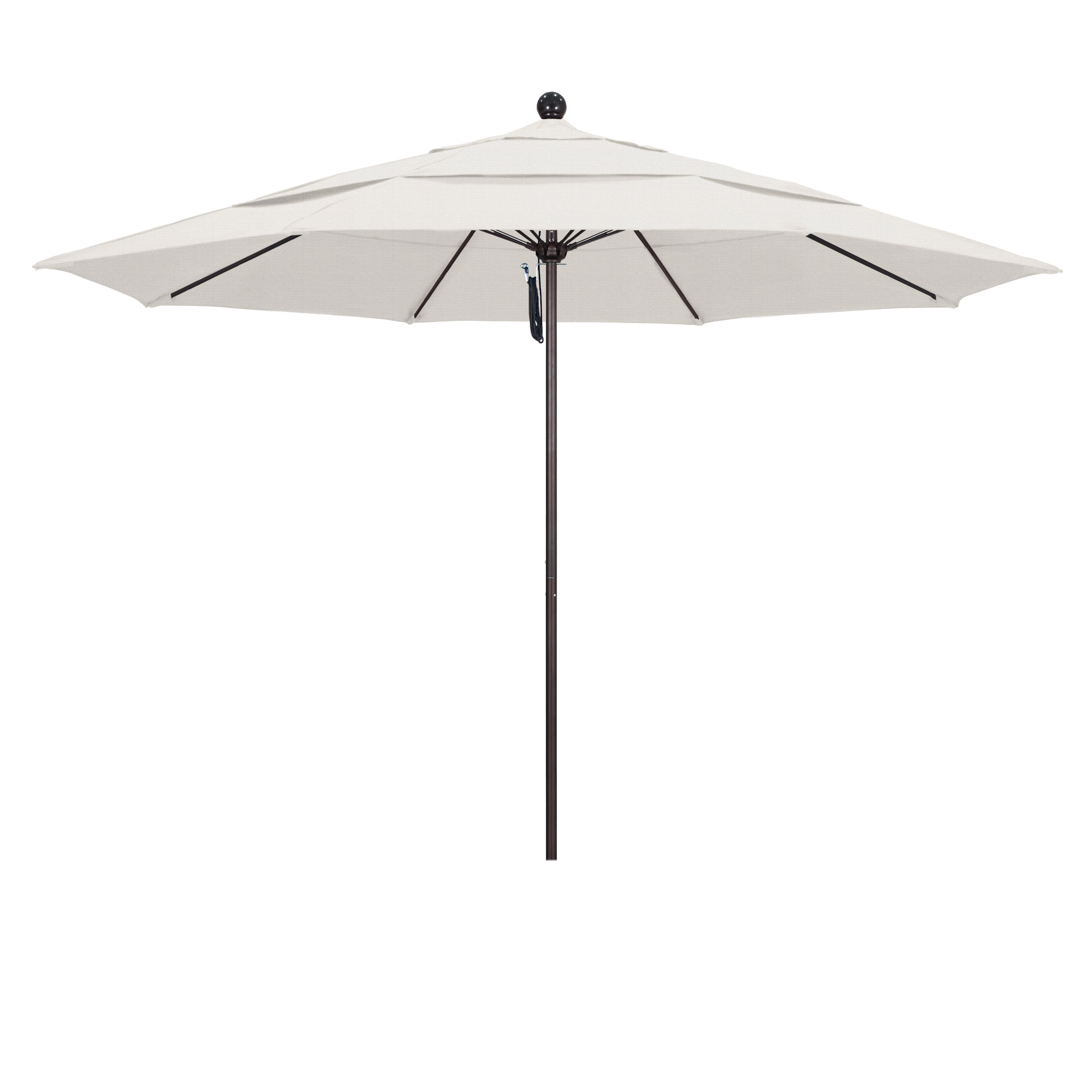 Favorite Davenport 11' Market Umbrella With Regard To Caravelle Market Sunbrella Umbrellas (View 12 of 20)