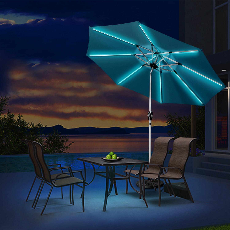 Favorite Hawkinge 9' Market Umbrella Within Eastwood Market Umbrellas (View 6 of 20)