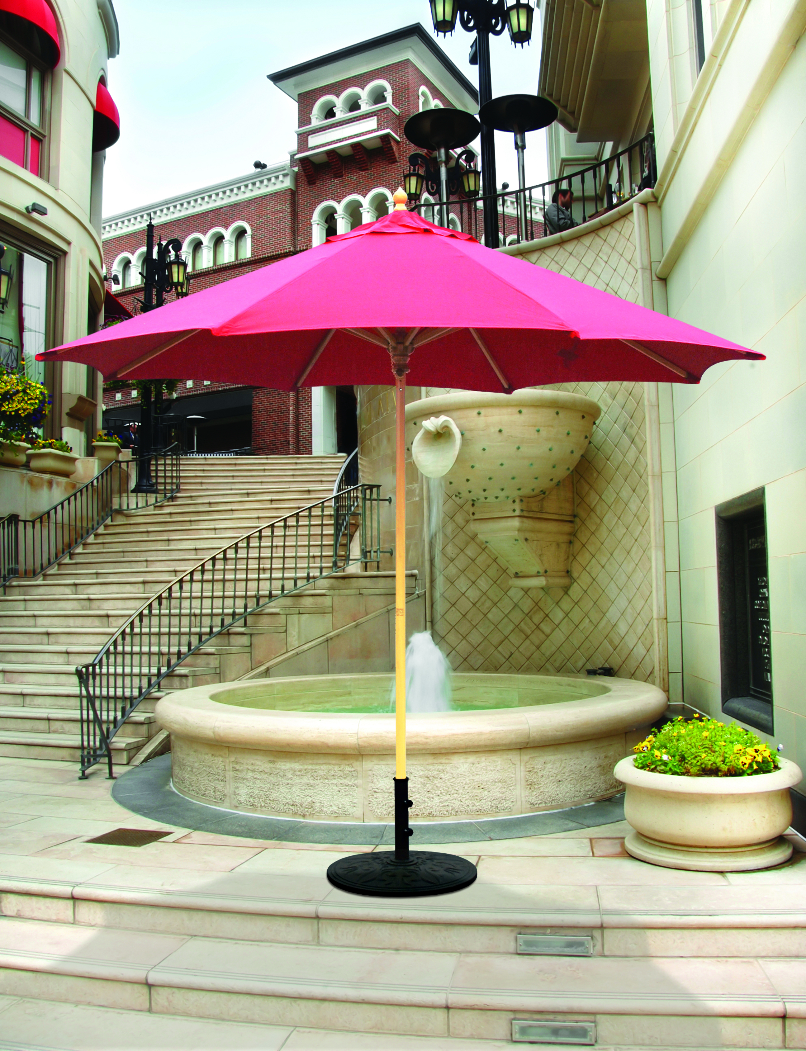 Favorite Keegan Market Umbrellas Intended For Replace Broken Umbrella Parts – Replacement Rib For Galtech 11' Wood (View 5 of 20)