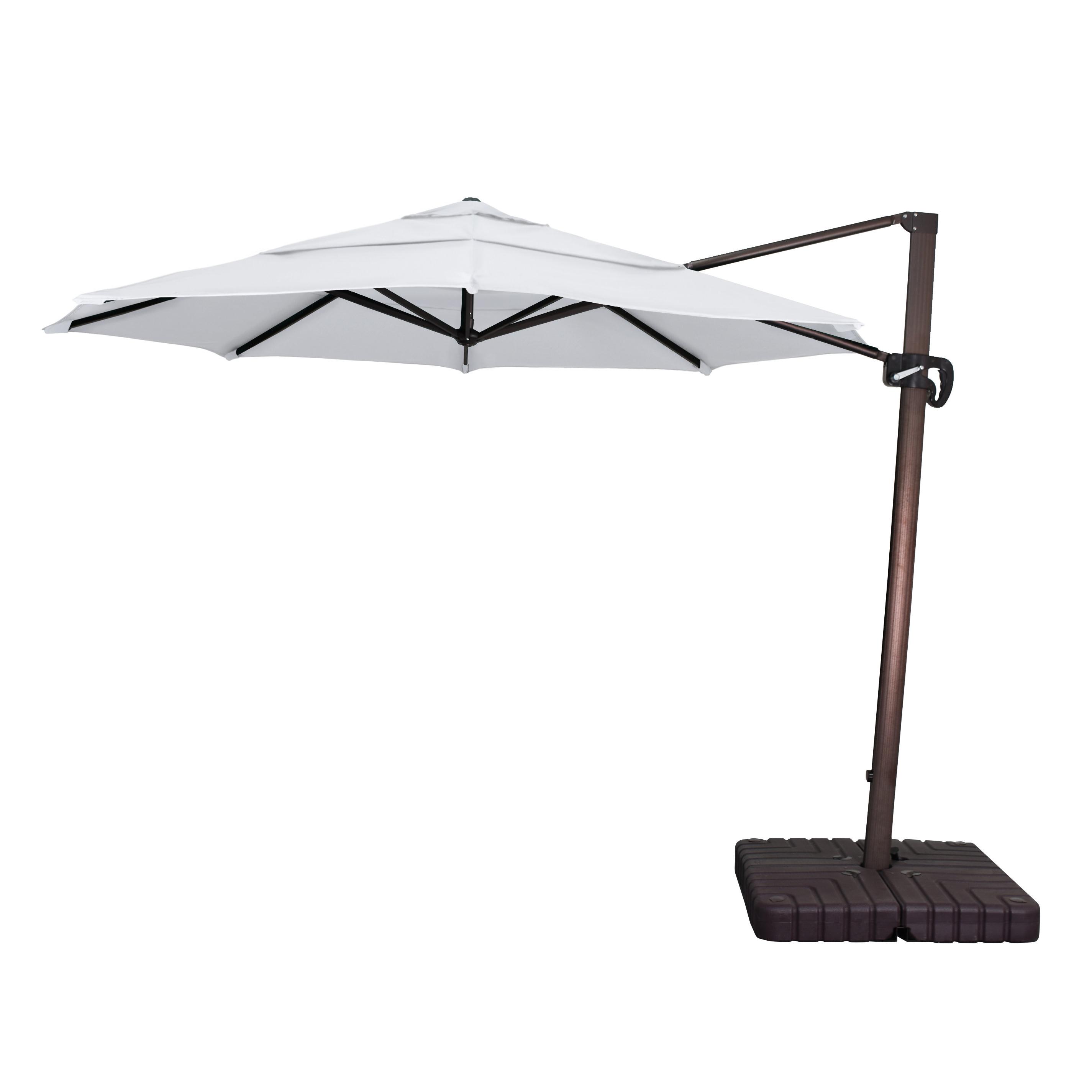 Favorite Lennie Cantilever Sunbrella Umbrellas Within Sol 72 Outdoor Carlisle Cantilever Sunbrella Umbrella (View 4 of 20)