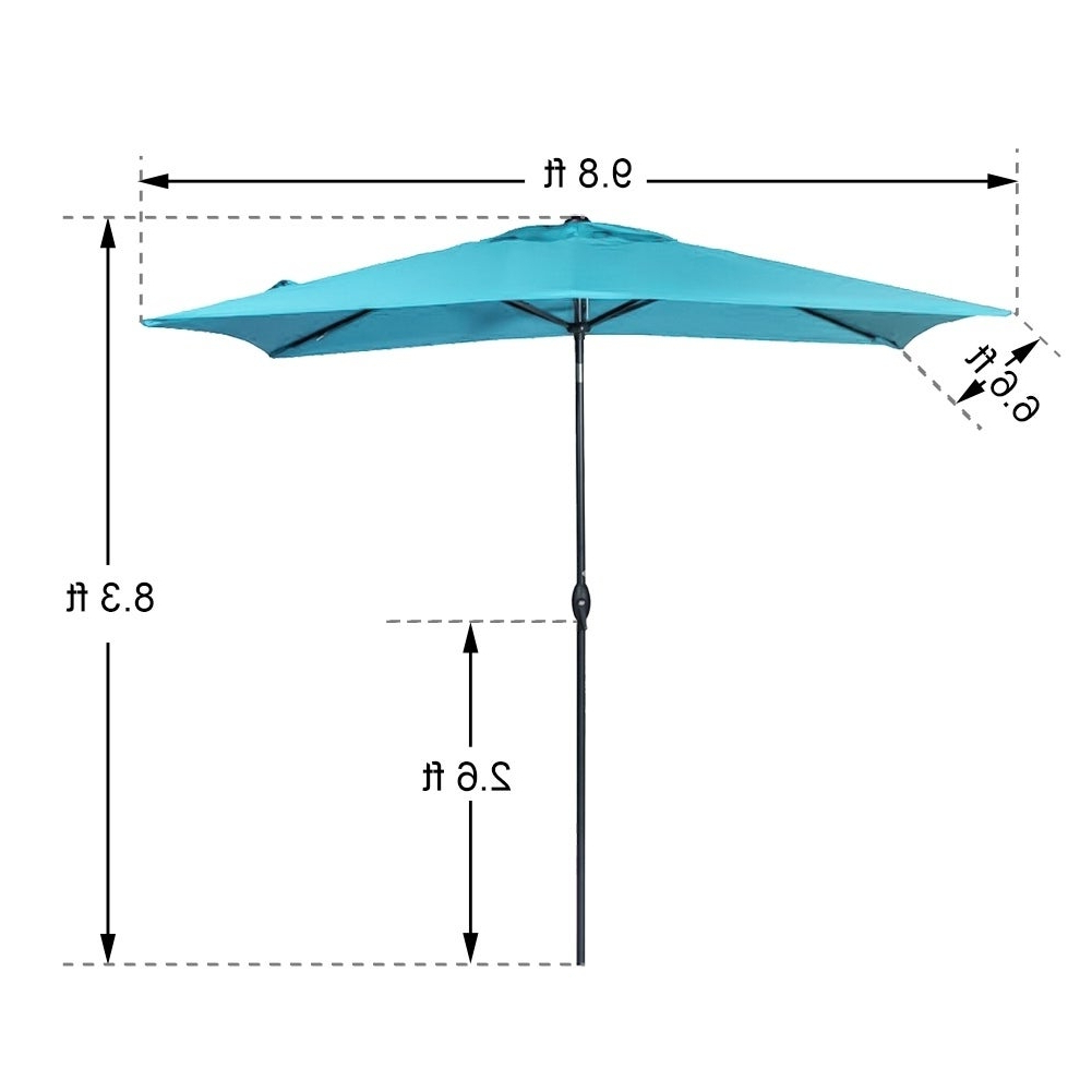 Favorite Turquoise Umbrella Outdoor – Caldwellcountytxoem Regarding Kedzie Outdoor Cantilever Umbrellas (View 15 of 20)