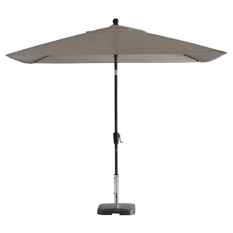 Favorite Wiechmann Push Tilt 9' X 7' Rectangular Market Sunbrella Umbrella Throughout Wiechmann Push Tilt Market Sunbrella Umbrellas (View 10 of 20)