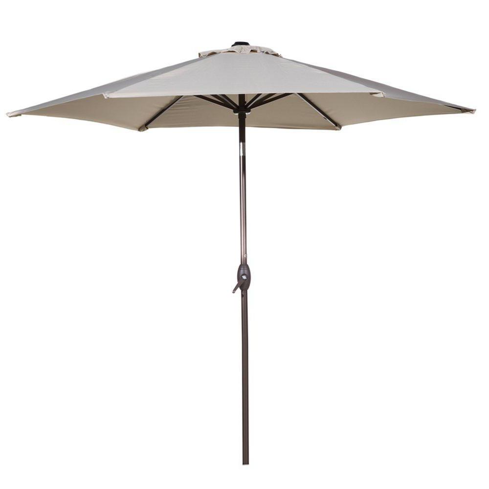 Fazeley Rectangular Cantilever Umbrellas Inside Most Recent Cantilever Umbrellas – Patio Umbrellas – The Home Depot (View 16 of 20)