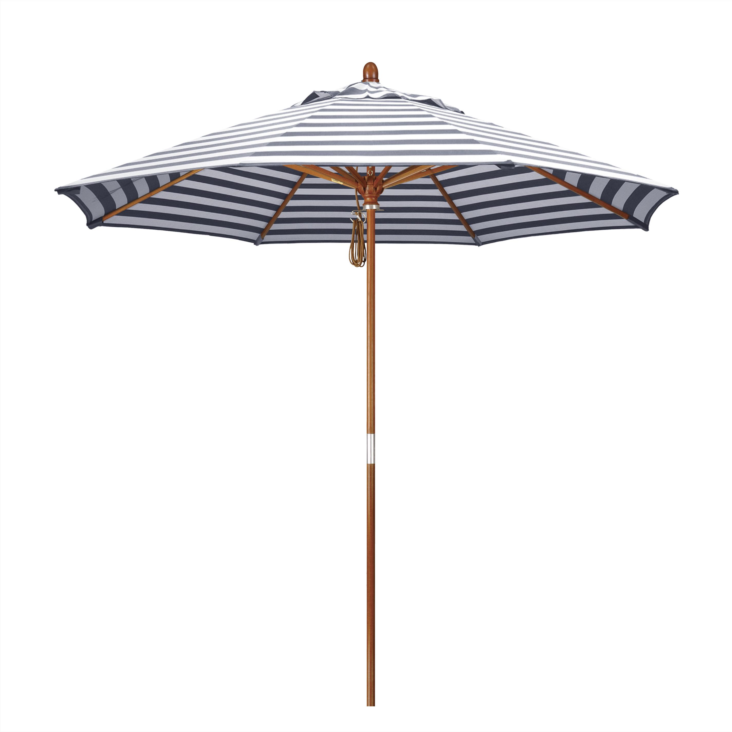 Fleetwood Market Umbrellas Pertaining To Most Recent Mare 9' Market Umbrella (View 15 of 20)