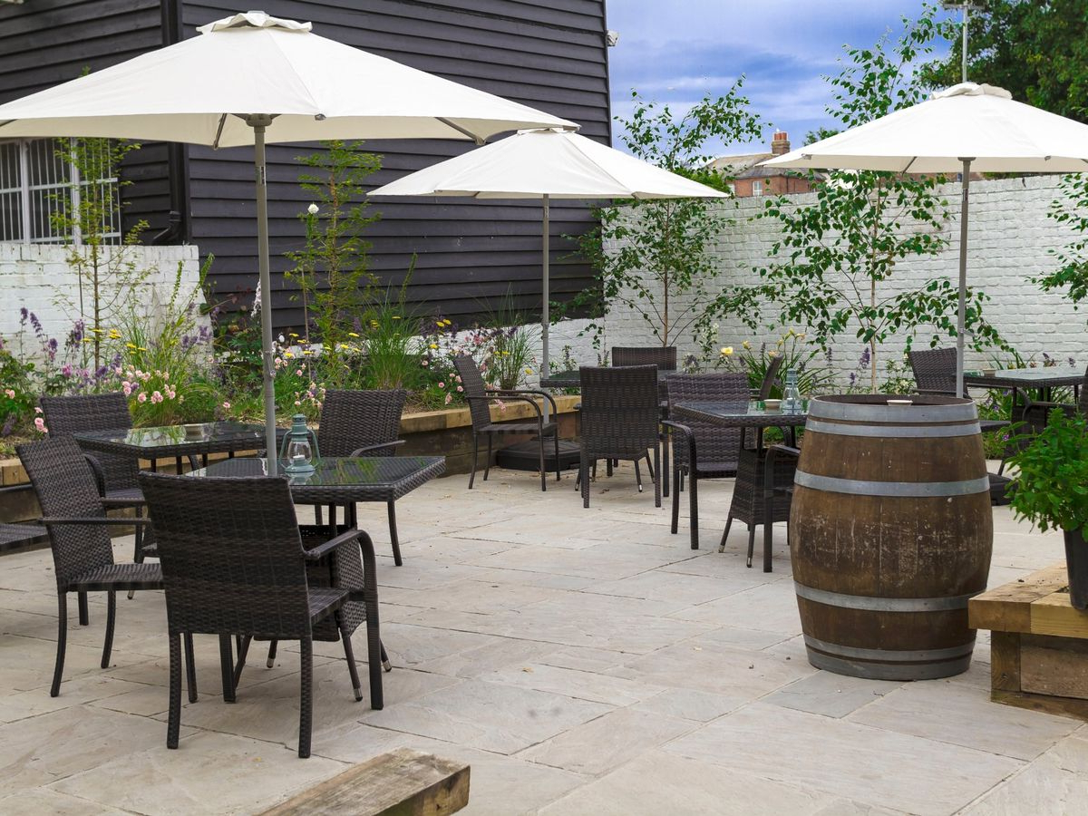 Folkeste Market Umbrellas In Most Current 13 Kent Restaurants With Incredible Spaces For Al Fresco Dining (View 7 of 20)