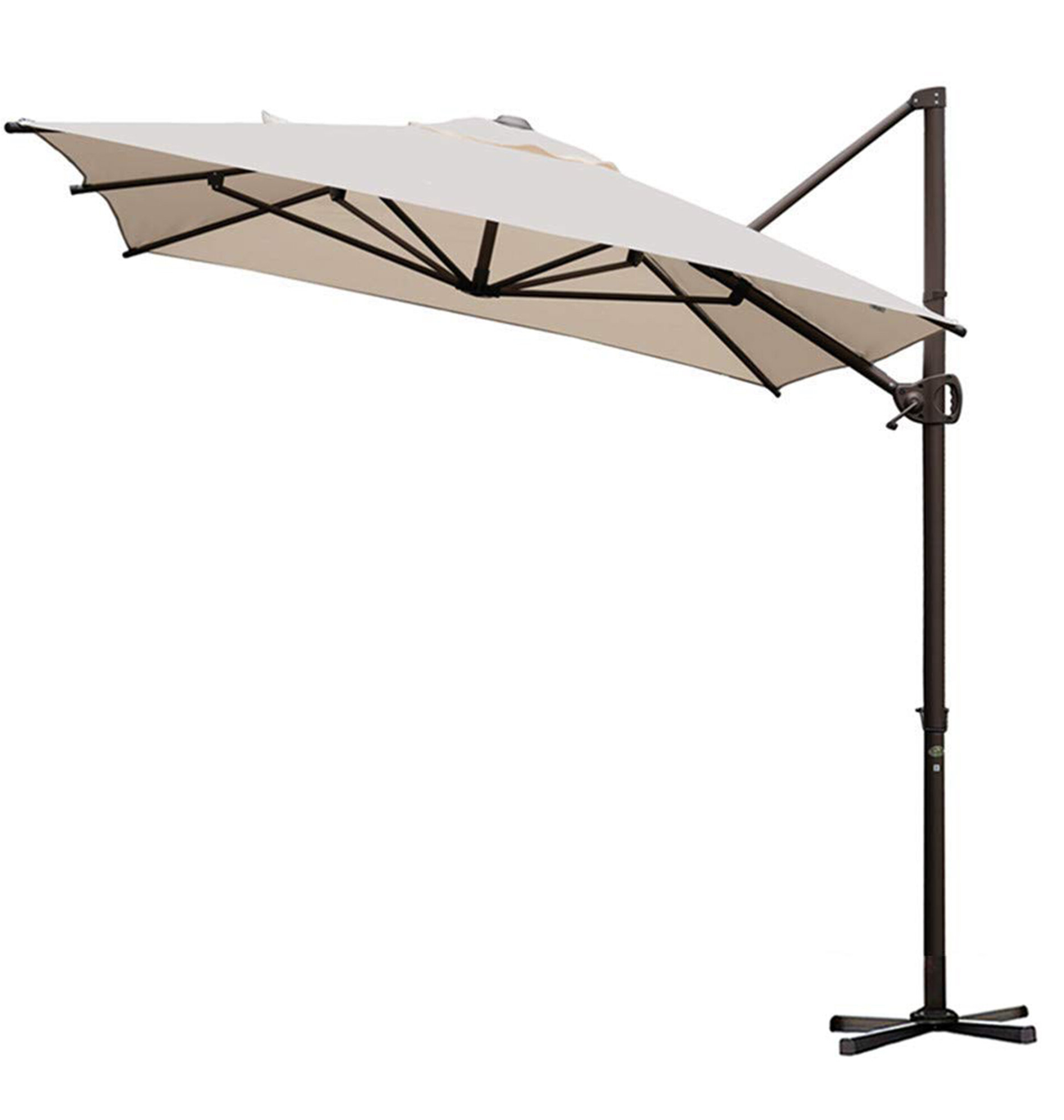 Fordwich Rectangular Cantilever Umbrellas Throughout Most Popular Walter 9' X 7' Rectangular Cantilever Umbrella (View 3 of 20)