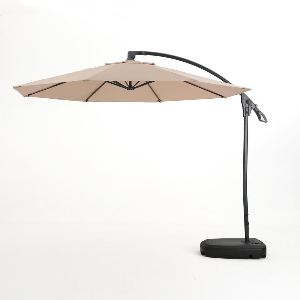 Freda Cantilever Umbrellas Regarding Recent Noble House 9.71 Ft (View 12 of 20)