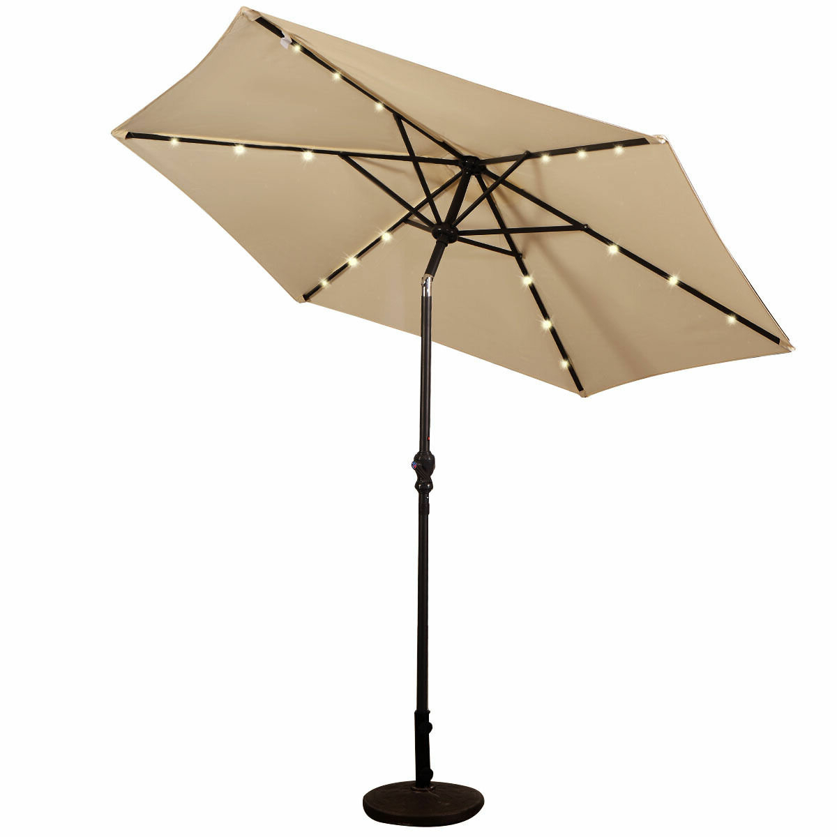 Freeport Park Eastwood 9' Market Umbrella With Popular Branscum Lighted Umbrellas (View 19 of 20)
