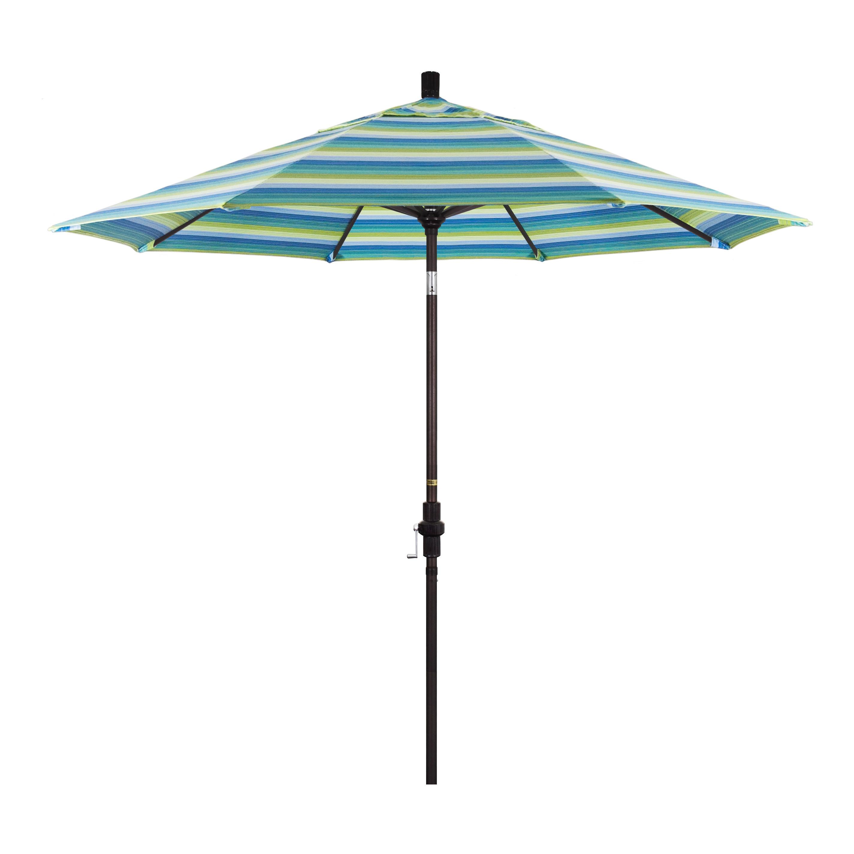 Golden State Series 9' Market Sunbrella Umbrella For Popular Wiechmann Push Tilt Market Sunbrella Umbrellas (View 11 of 20)