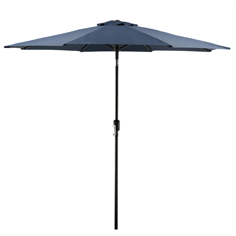 Hapeville 9' Market Umbrella Throughout Preferred Hyperion Market Umbrellas (View 11 of 20)