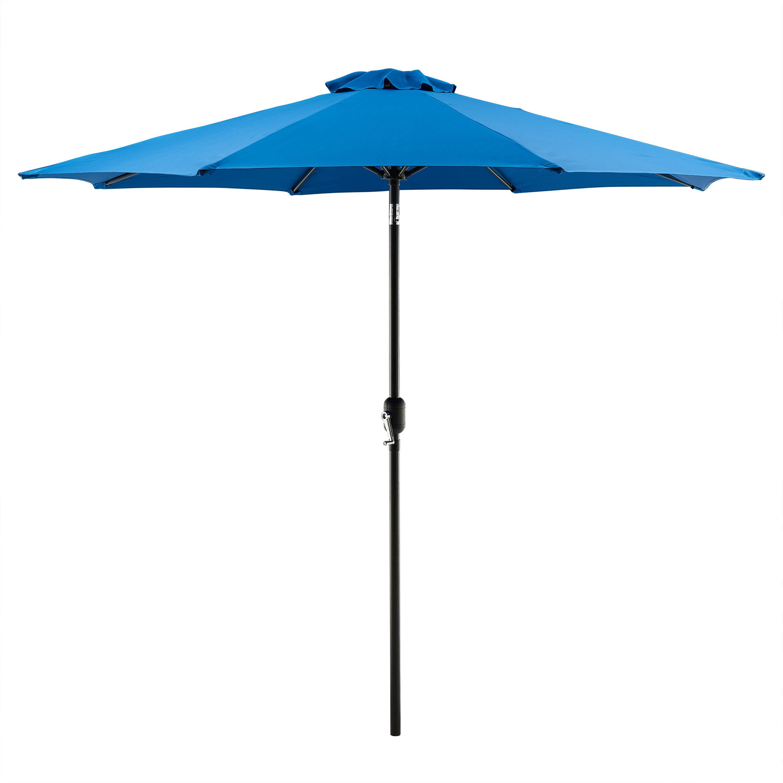 Hapeville 9' Market Umbrella With Most Recent Winchester Zipcode Design Market Umbrellas (View 7 of 20)