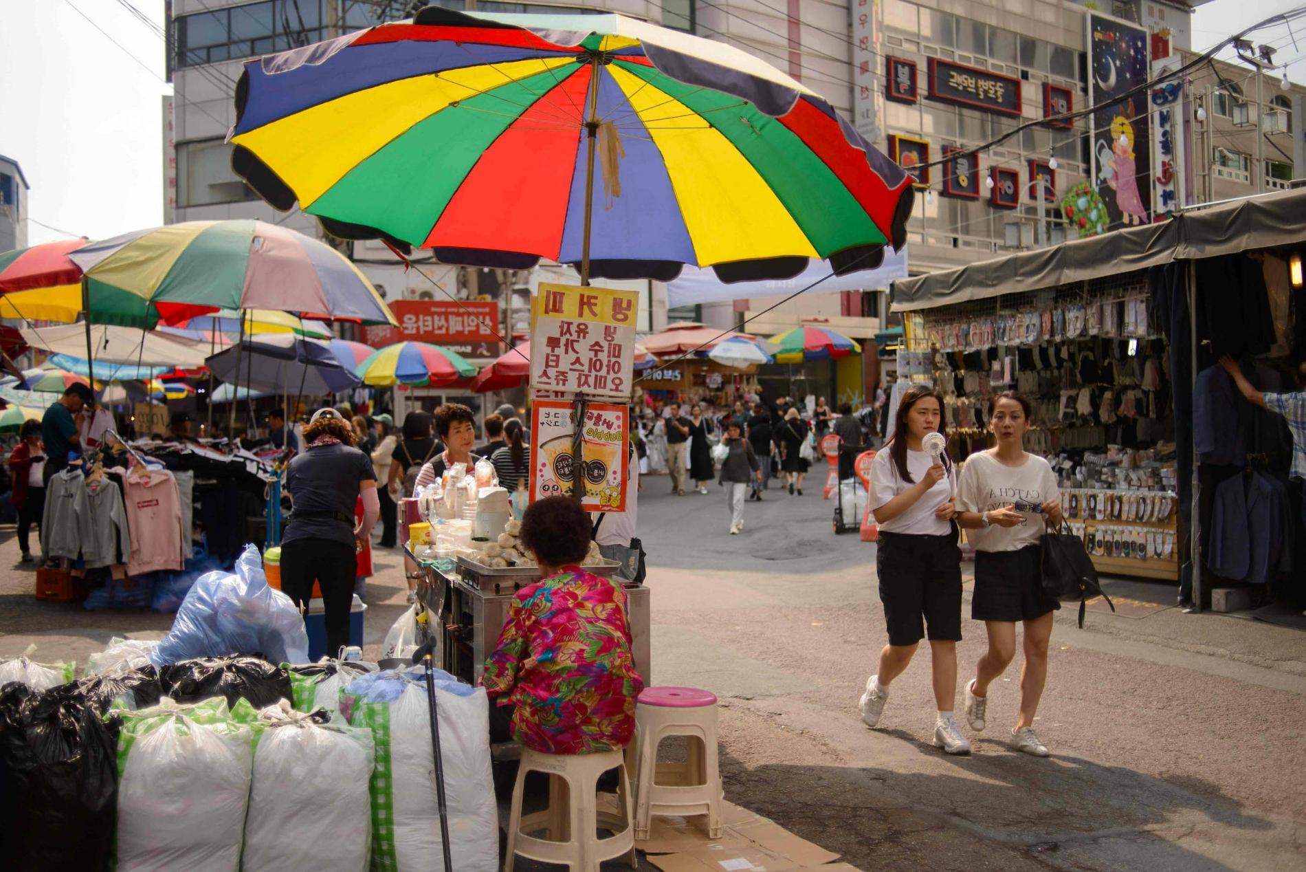 Hatten Market Umbrellas With 2020 Schwache Konjuktur: Südkorea Wird Beim Mindestlohn Vorsichtig (View 14 of 20)