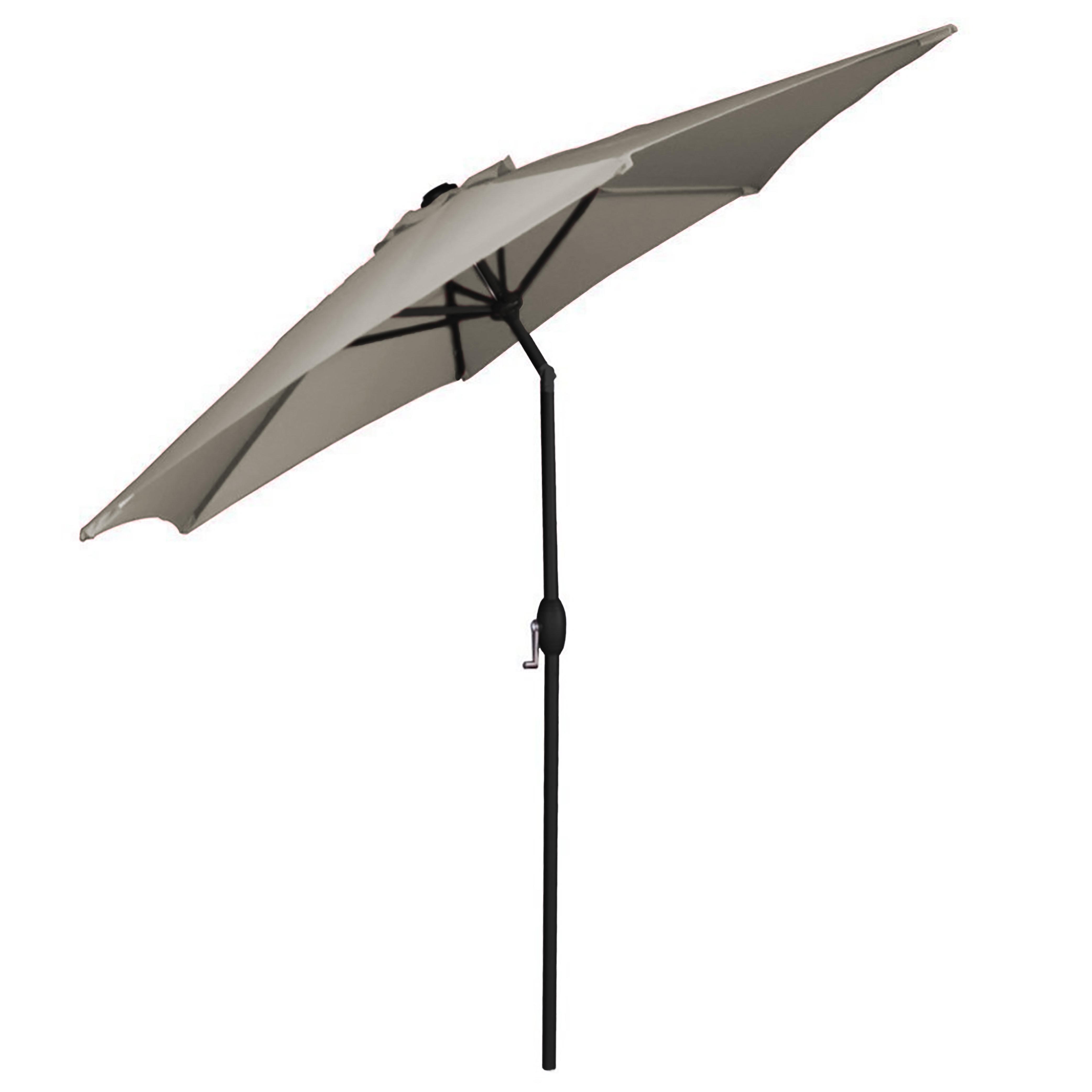 Herlinda Solar Lighted Market Umbrellas Regarding Most Recent Panama Market Umbrella (Gallery 11 of 20)