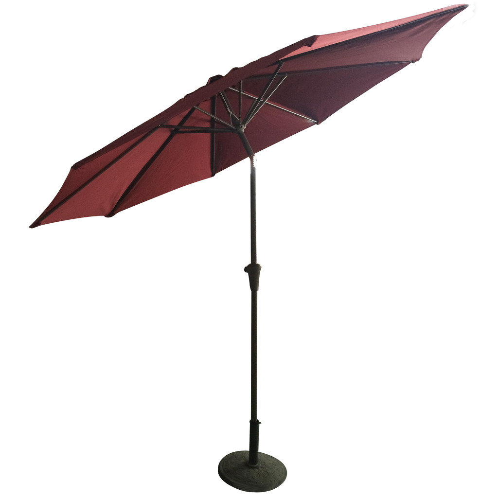 Hermina 9' Market Umbrella Regarding Latest Isom Market Umbrellas (Gallery 11 of 20)