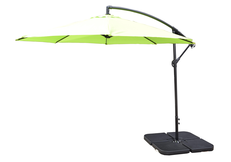Hilma Solar Cantilever Umbrellas For Favorite 10' Cantilever Umbrella (Gallery 11 of 20)