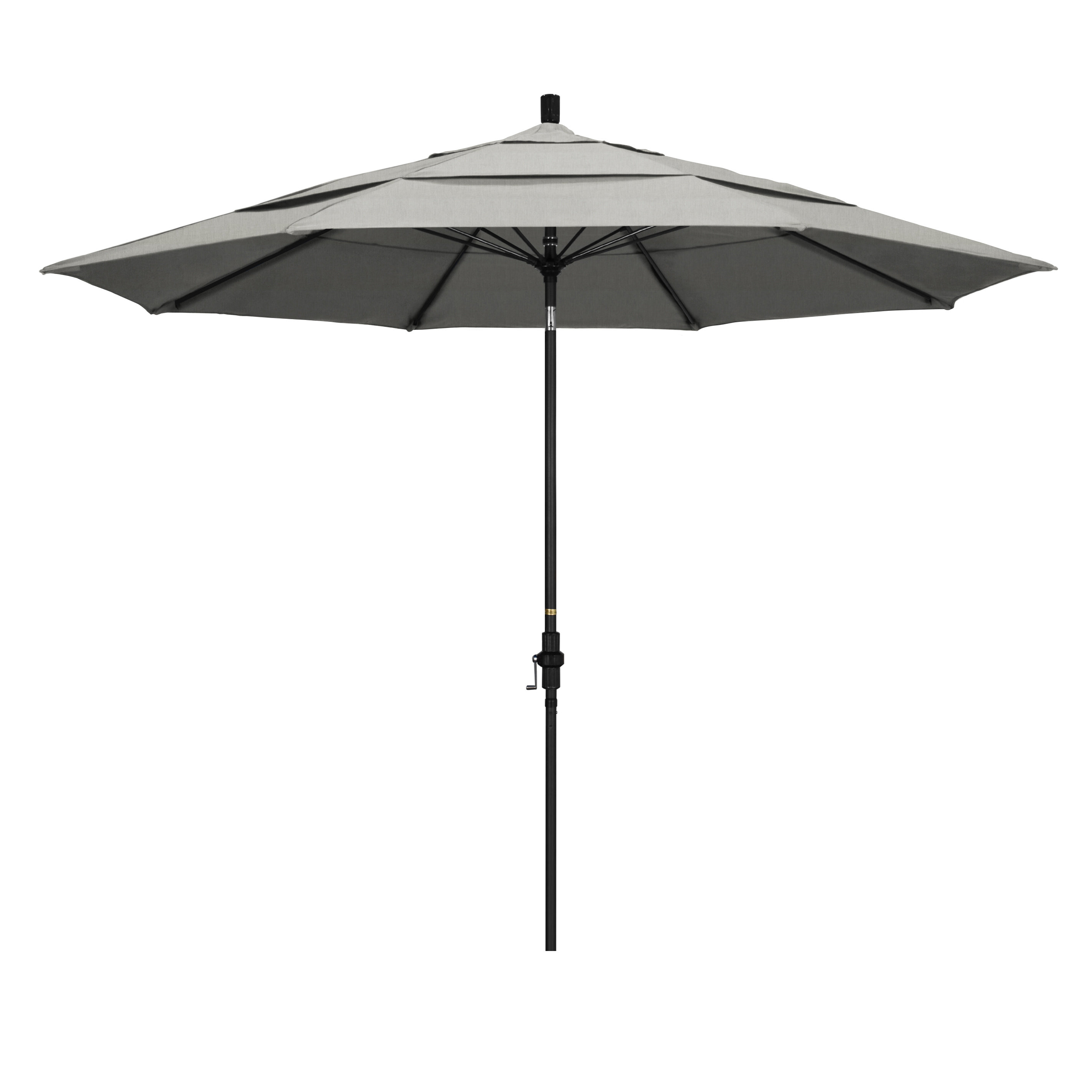 Hookton Crank Market Umbrellas Throughout Current Keegan 11' Market Umbrella & Reviews (View 6 of 20)