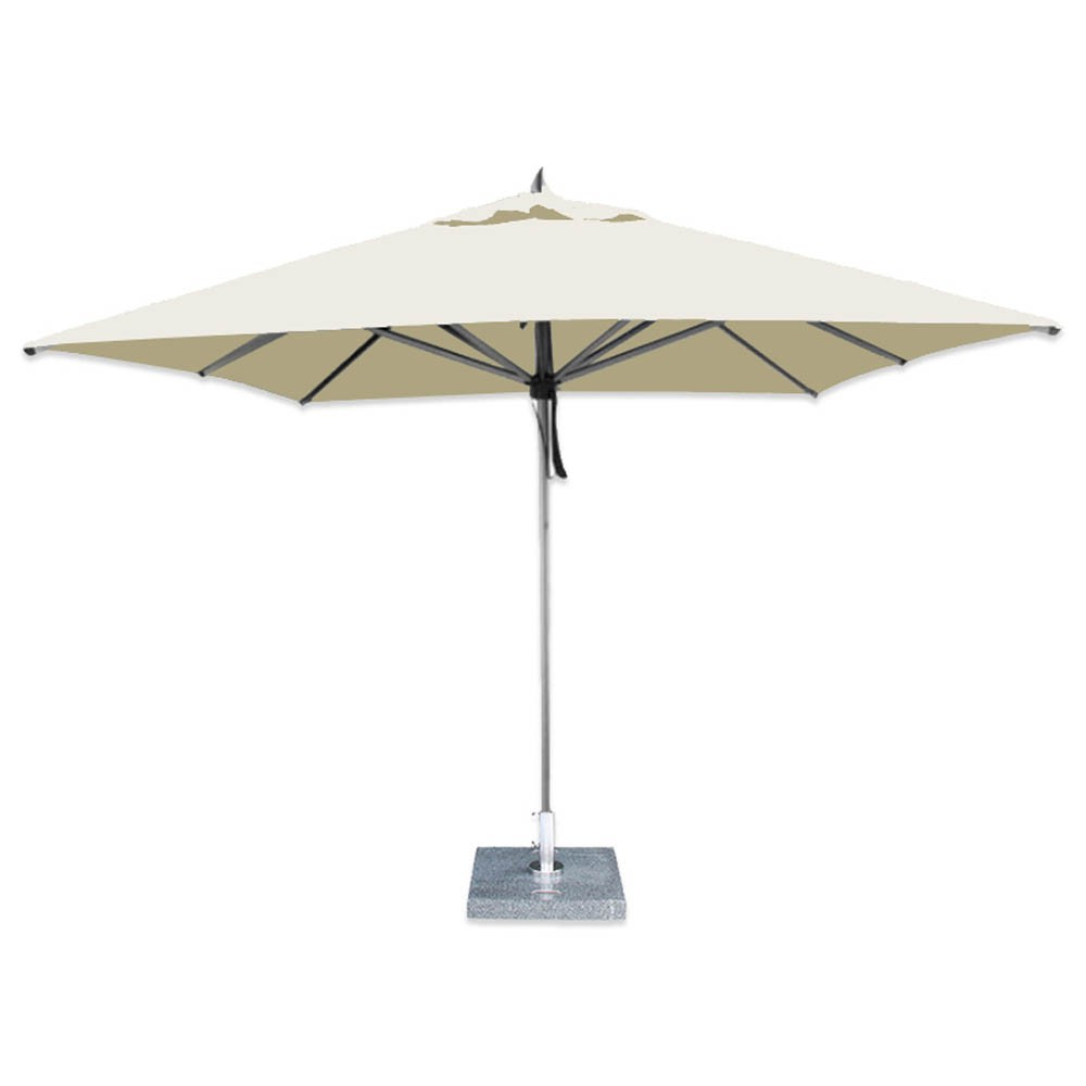 Hurricane Aluminum Market Umbrella From Bambrella Regarding Most Up To Date Frederick Square Cantilever Umbrellas (Gallery 17 of 20)