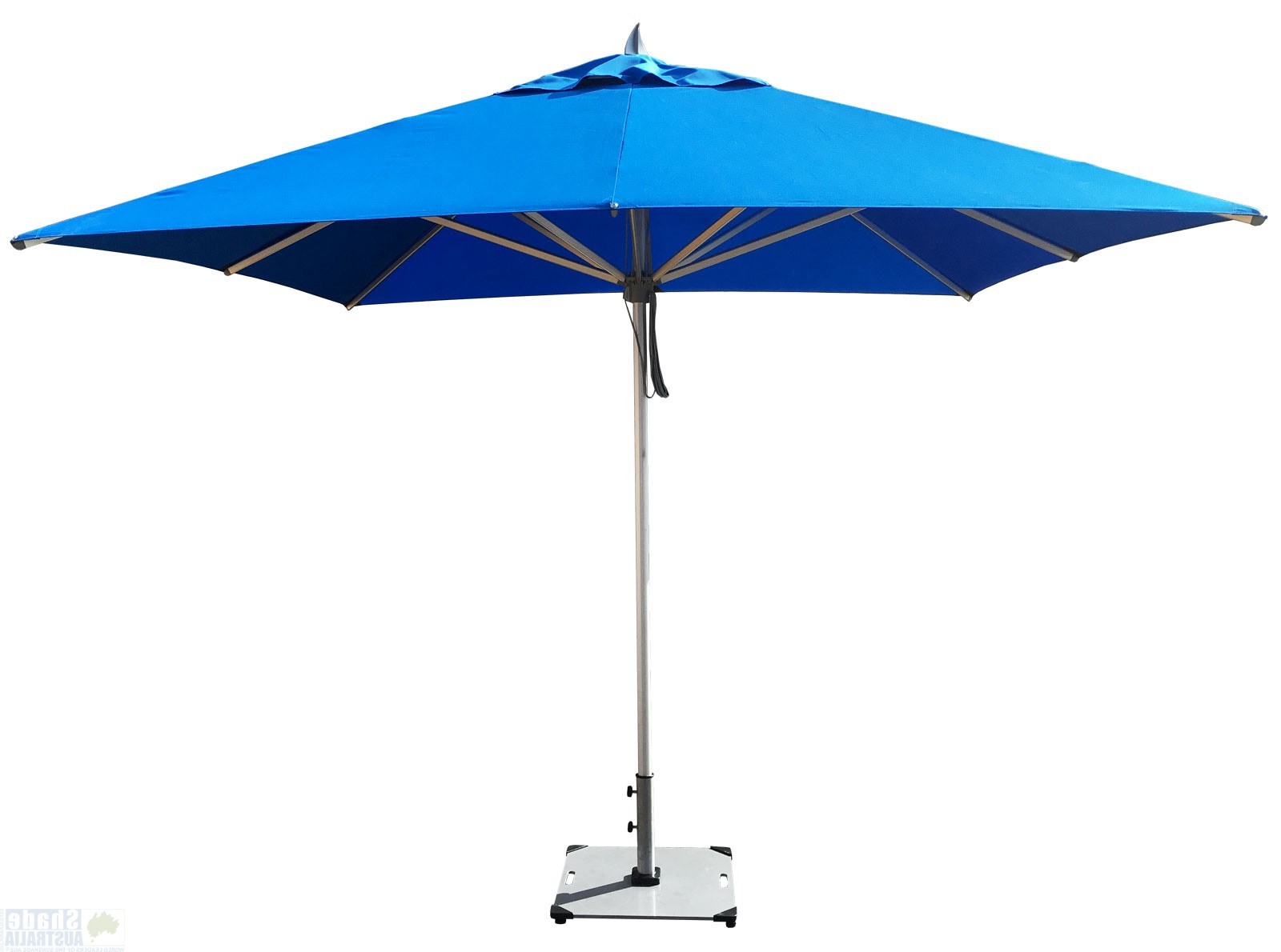 Hurricane Premium Parasol Intended For Most Up To Date Italian Market Umbrellas (View 8 of 20)