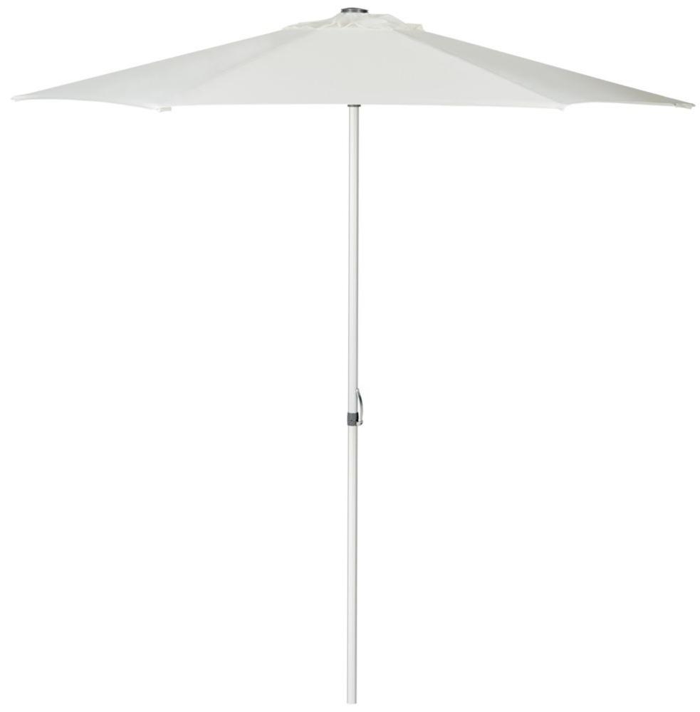 Hurst 9 Feet Easy Glide Market Umbrella In Natural (View 14 of 20)