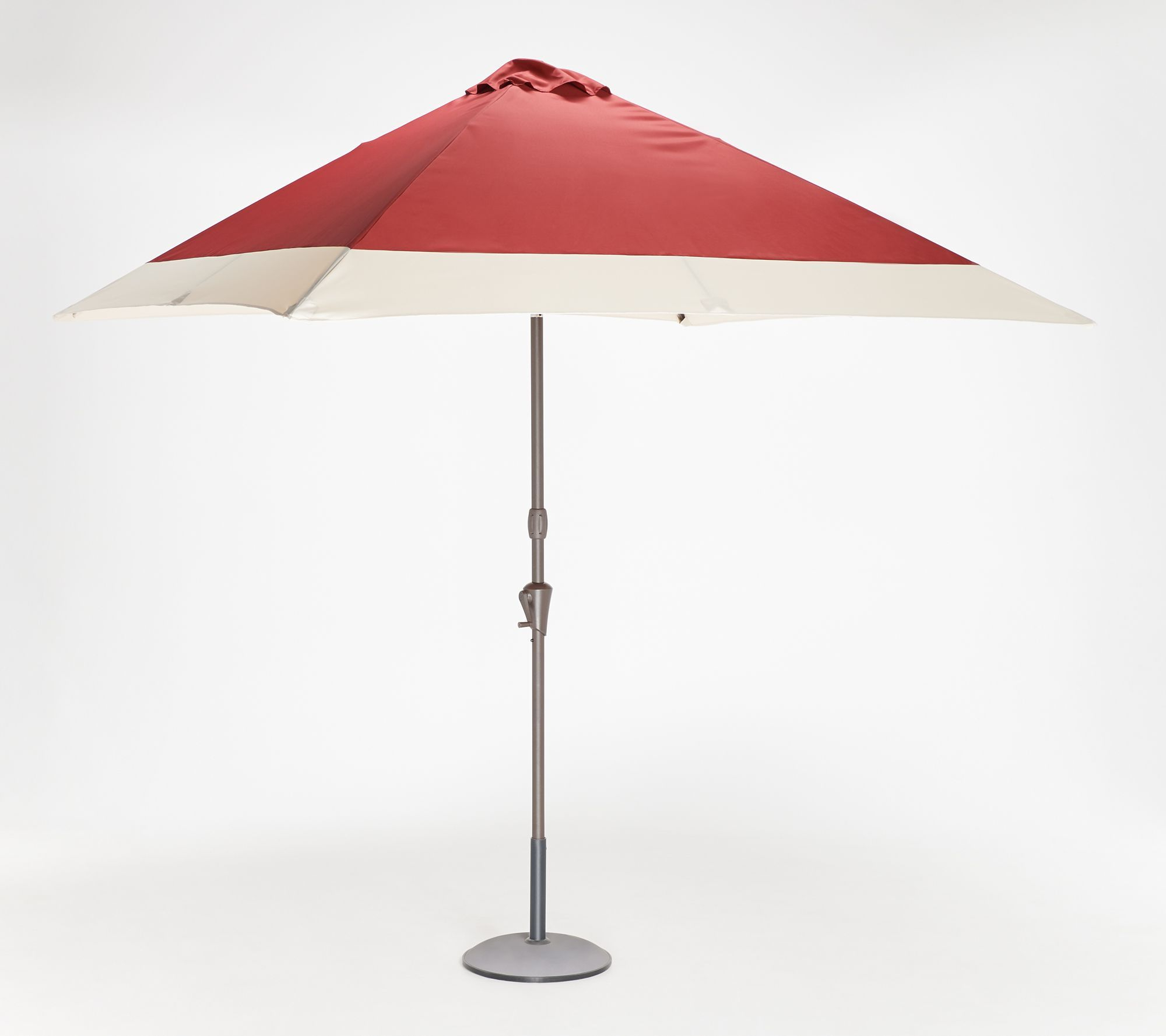 "Hyperion Market Umbrellas In Well Known Measurements: Umbrella Open 7.5' X 7.5' X 102""; Umbrella Folded 68 (Gallery 7 of 20)"