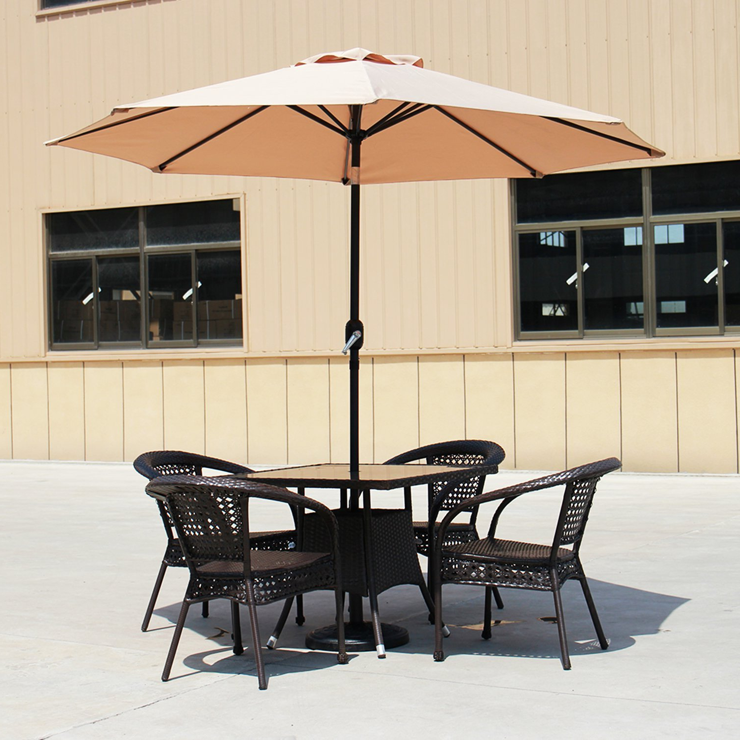 Hyperion Market Umbrellas Pertaining To Well Liked Carpenter 9' Market Umbrella (View 20 of 20)