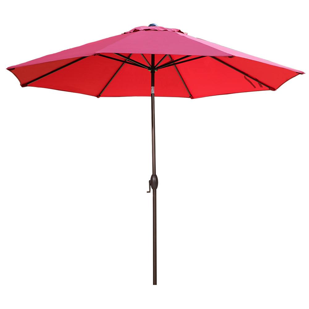 Isom 11' Market Umbrella Pertaining To Well Liked Isom Market Umbrellas (Gallery 1 of 20)