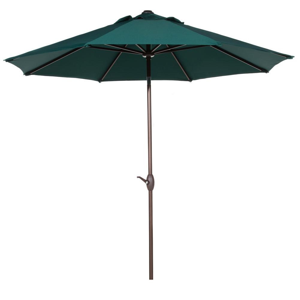 Isom Market Umbrellas Regarding Well Known Freeport Park Isom 11' Market Umbrella (View 2 of 20)