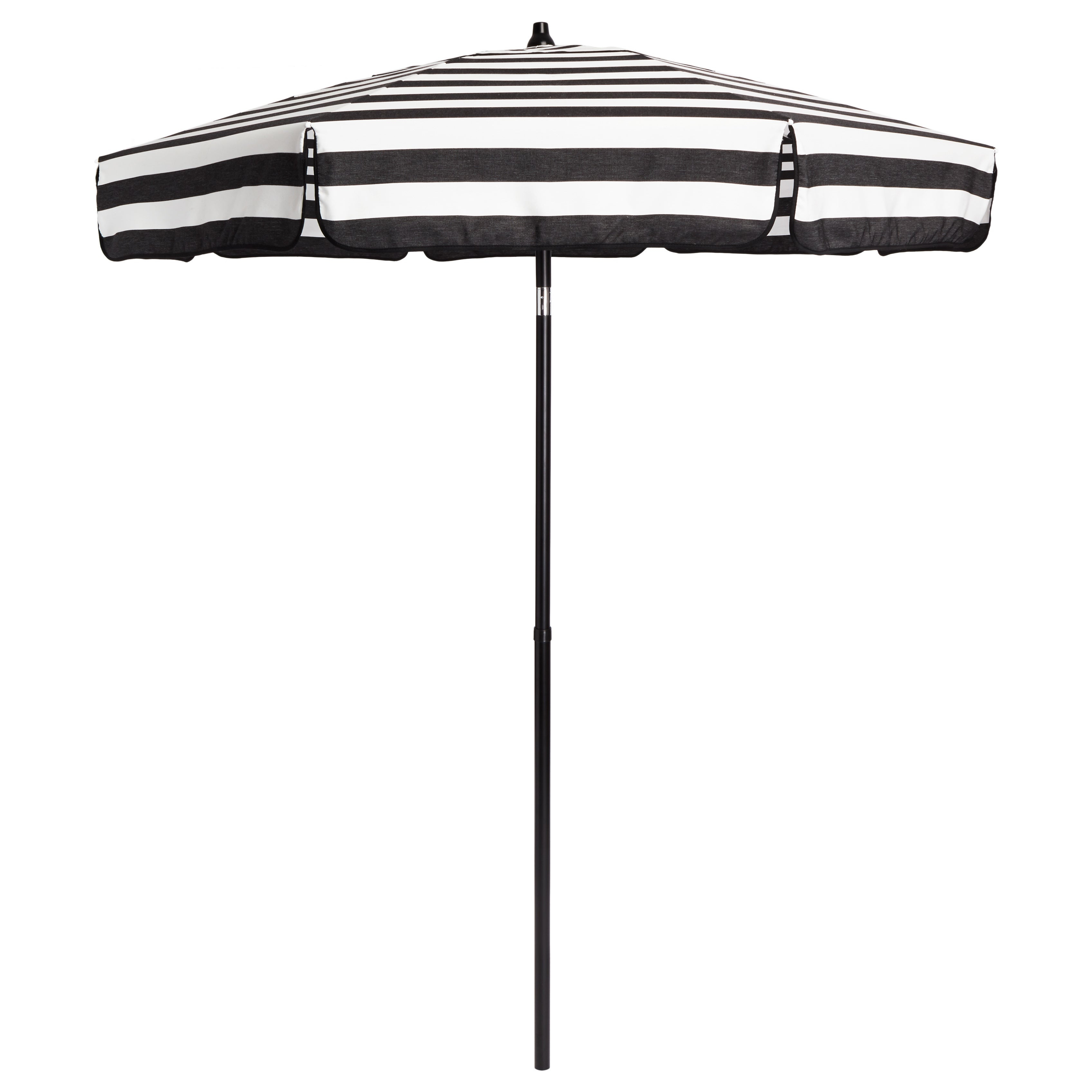Italian Bistro 6 Foot Acrylic Striped Patio Umbrella Regarding Well Liked Italian Drape Umbrellas (View 7 of 20)