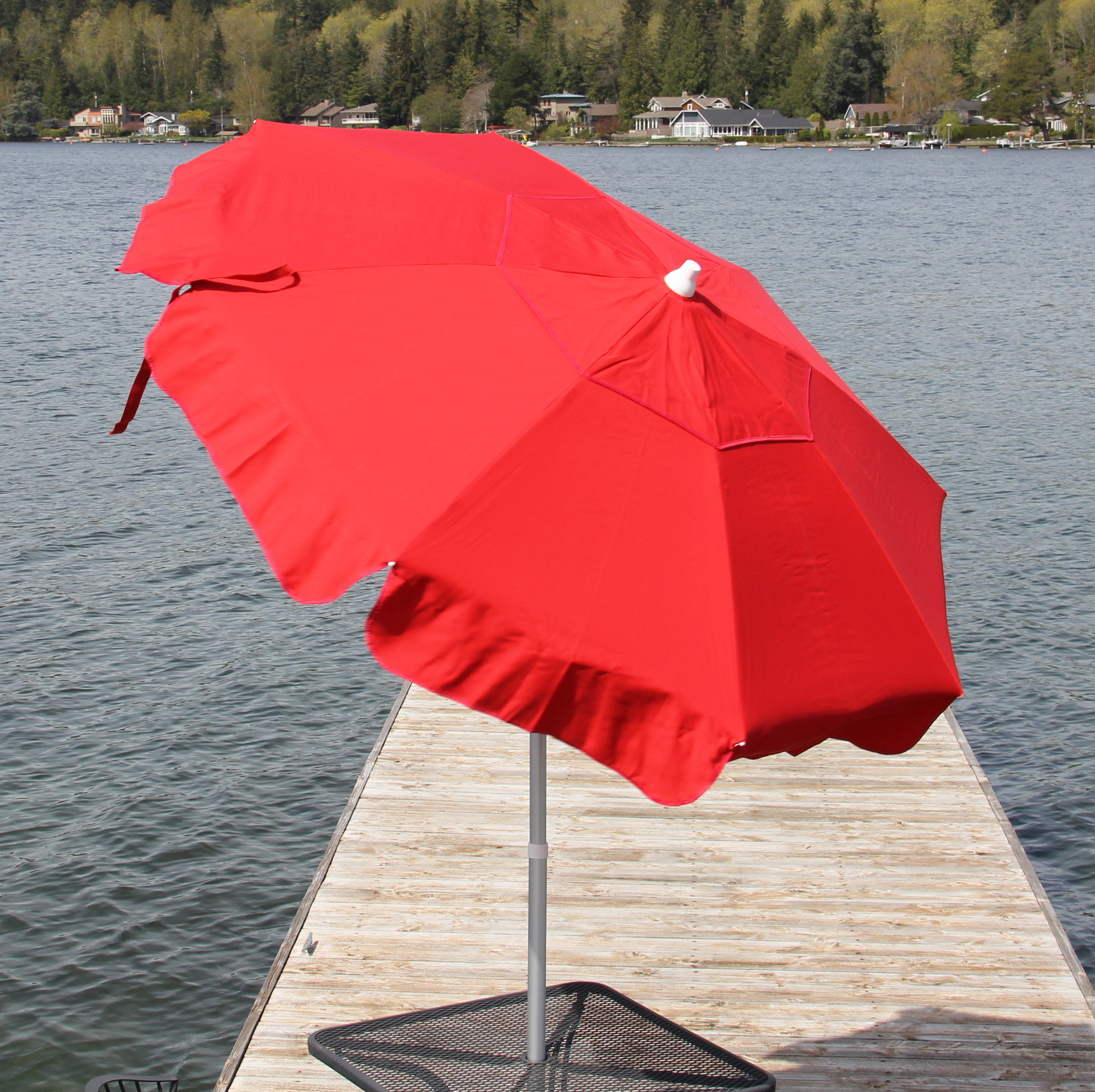Italian Drape Umbrellas In Most Popular Italian 6' Drape Umbrella (View 2 of 20)