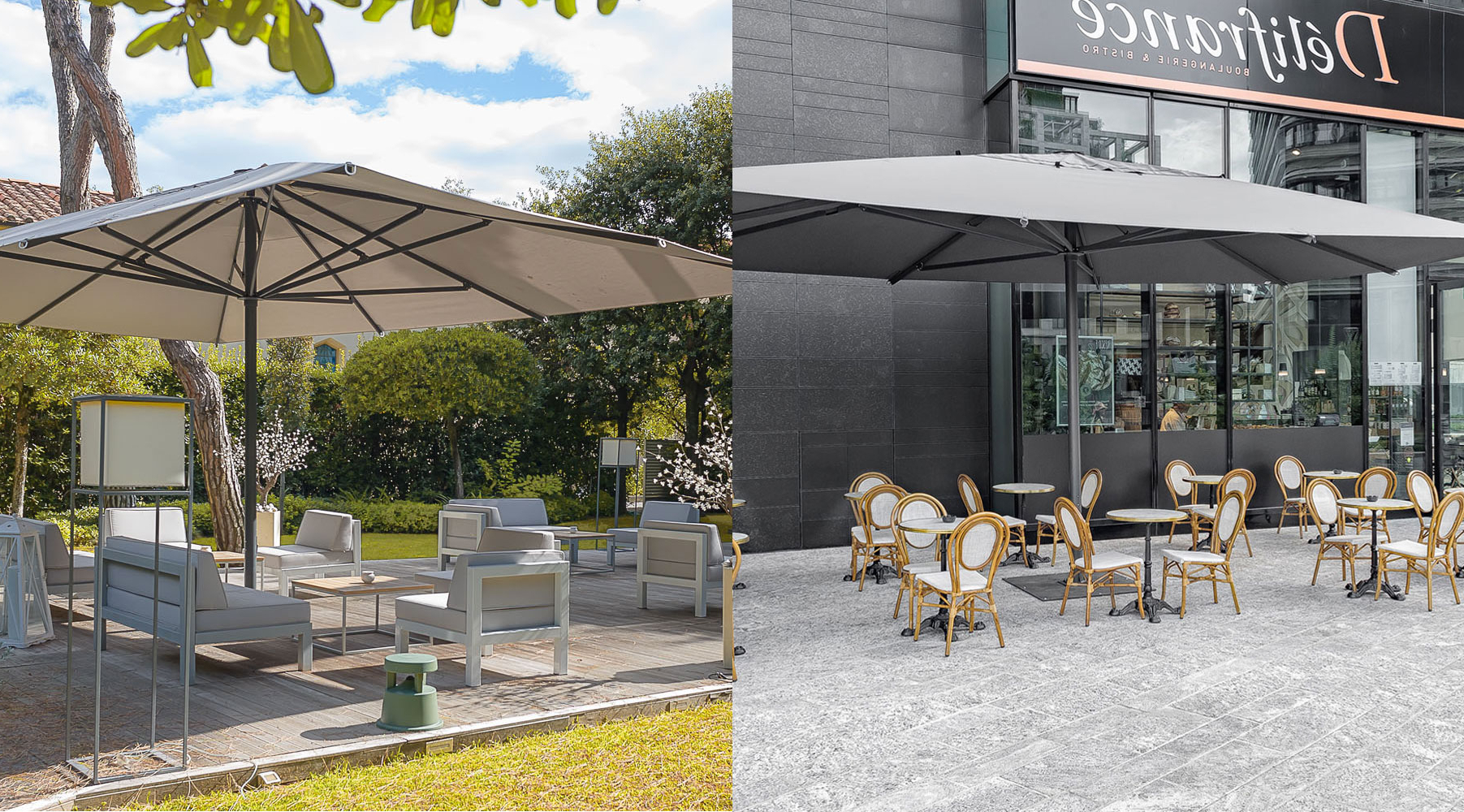 Italian Market Umbrellas With Newest The Ultimate Guide To Choosing The Best Commercial Outdoor Umbrella (View 16 of 20)