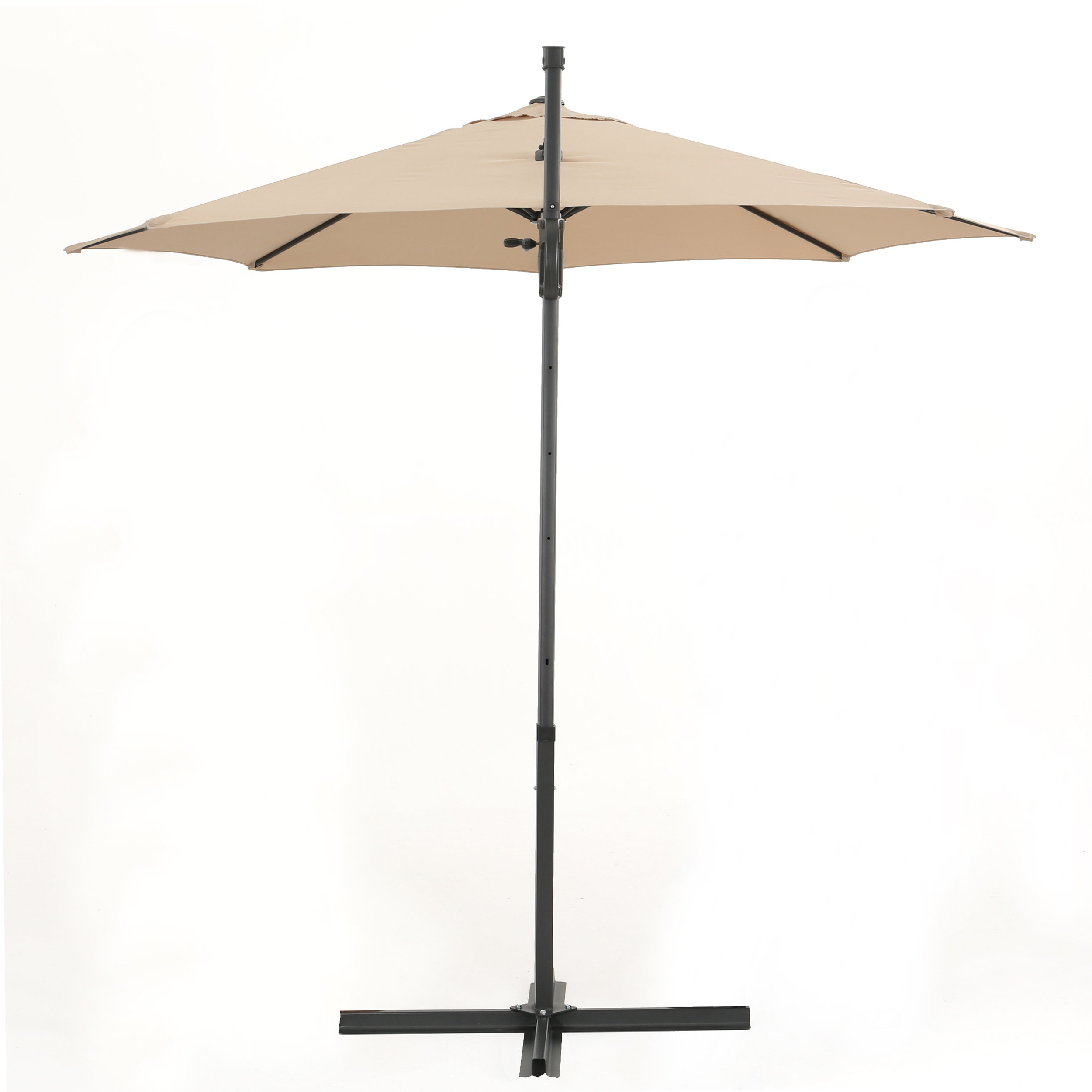 Jaelynn Cantilever Umbrellas Throughout Newest Jaelynn 9.5' Cantilever Umbrella (Gallery 4 of 20)