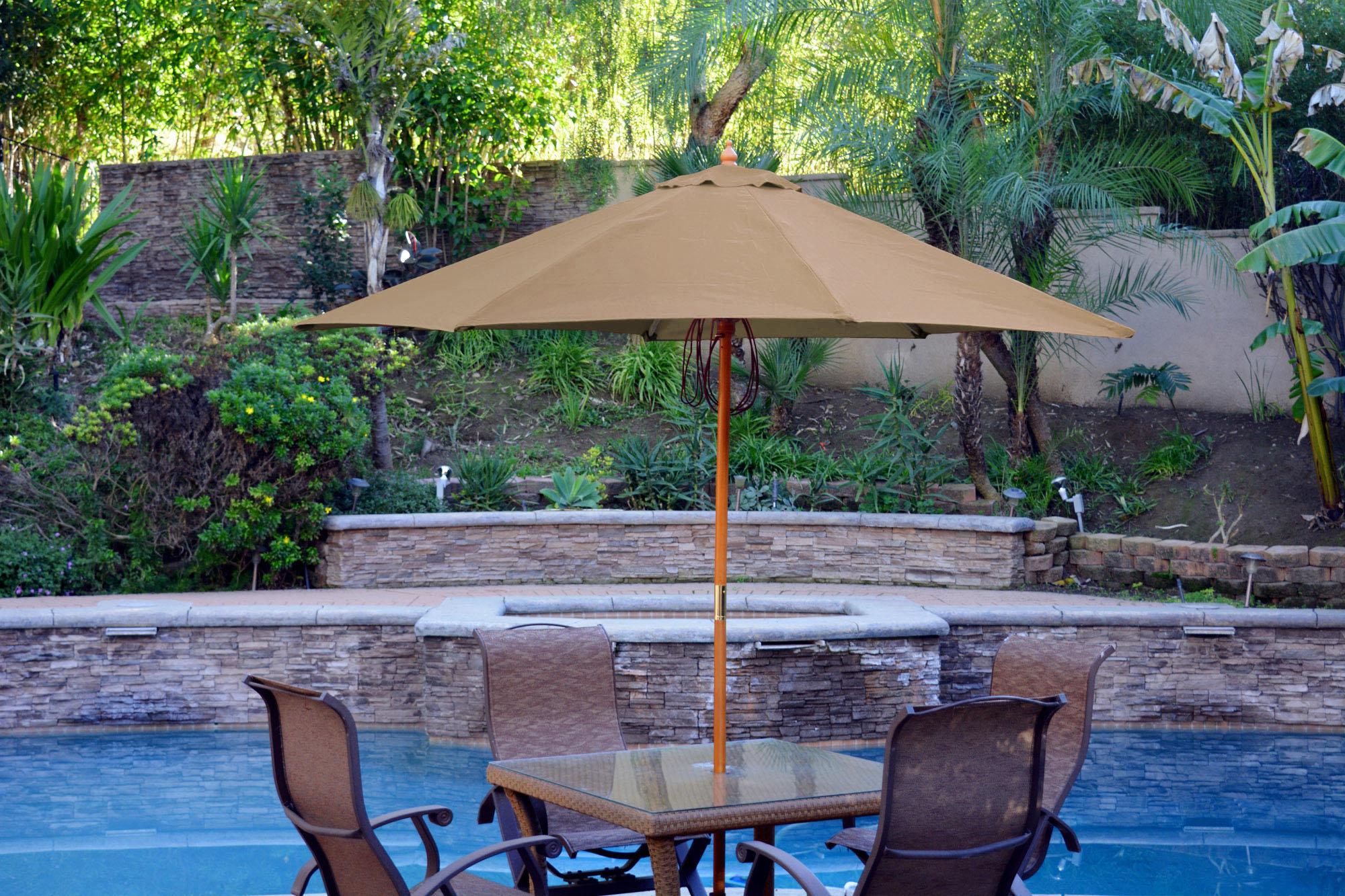 Jeco Inc. 9' Market Umbrella Within Well Liked Havant Market Umbrellas (Gallery 9 of 20)
