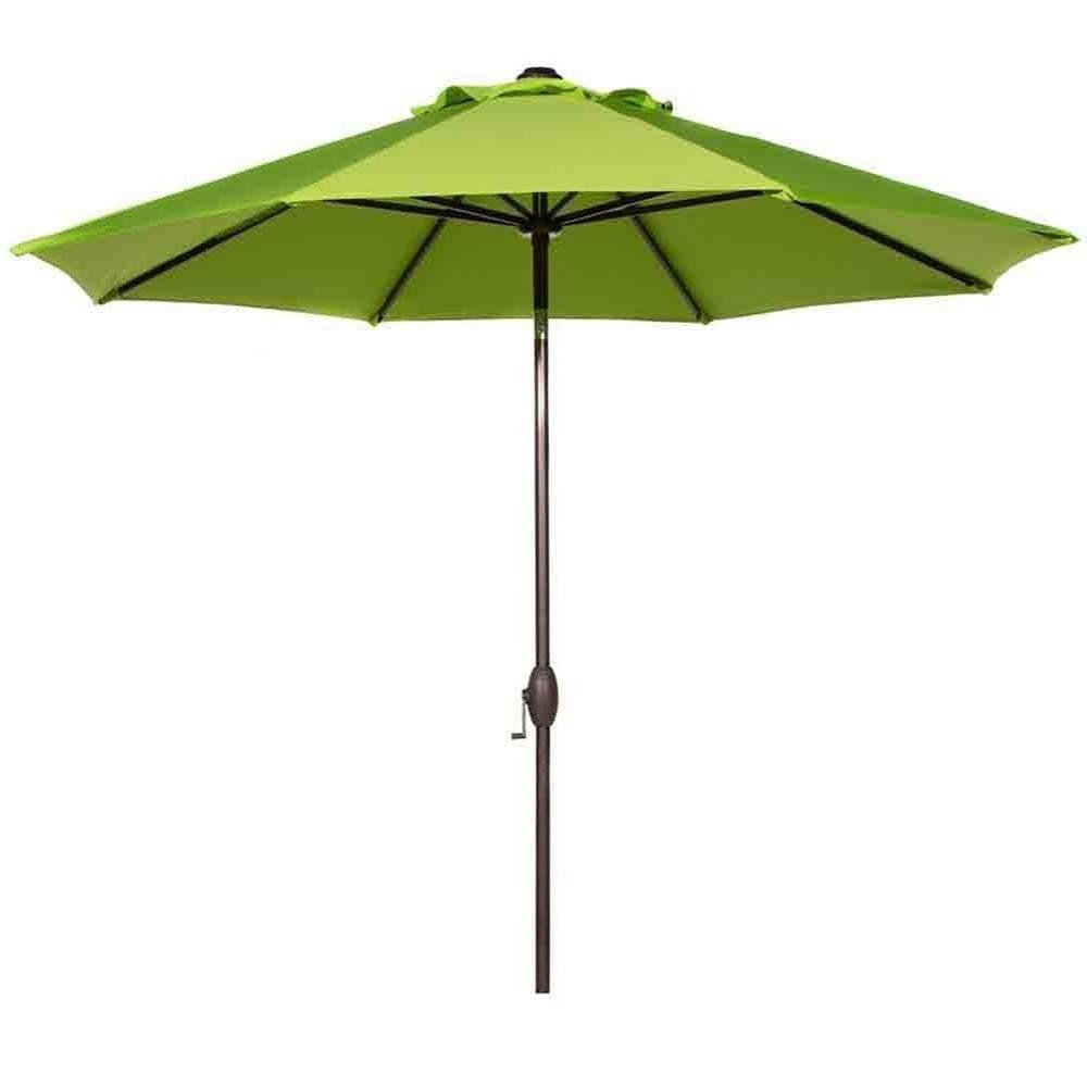 Jericho Market Umbrellas In Famous Market Umbrellas – Patio Umbrellas – The Home Depot (View 3 of 20)