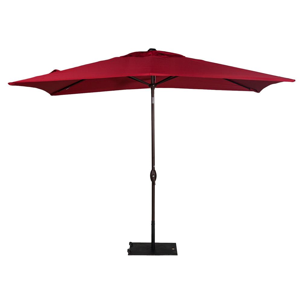 Jerrell Rectangular Market Umbrellas Regarding Current Freeport Park Jerrell 10' X (View 3 of 20)