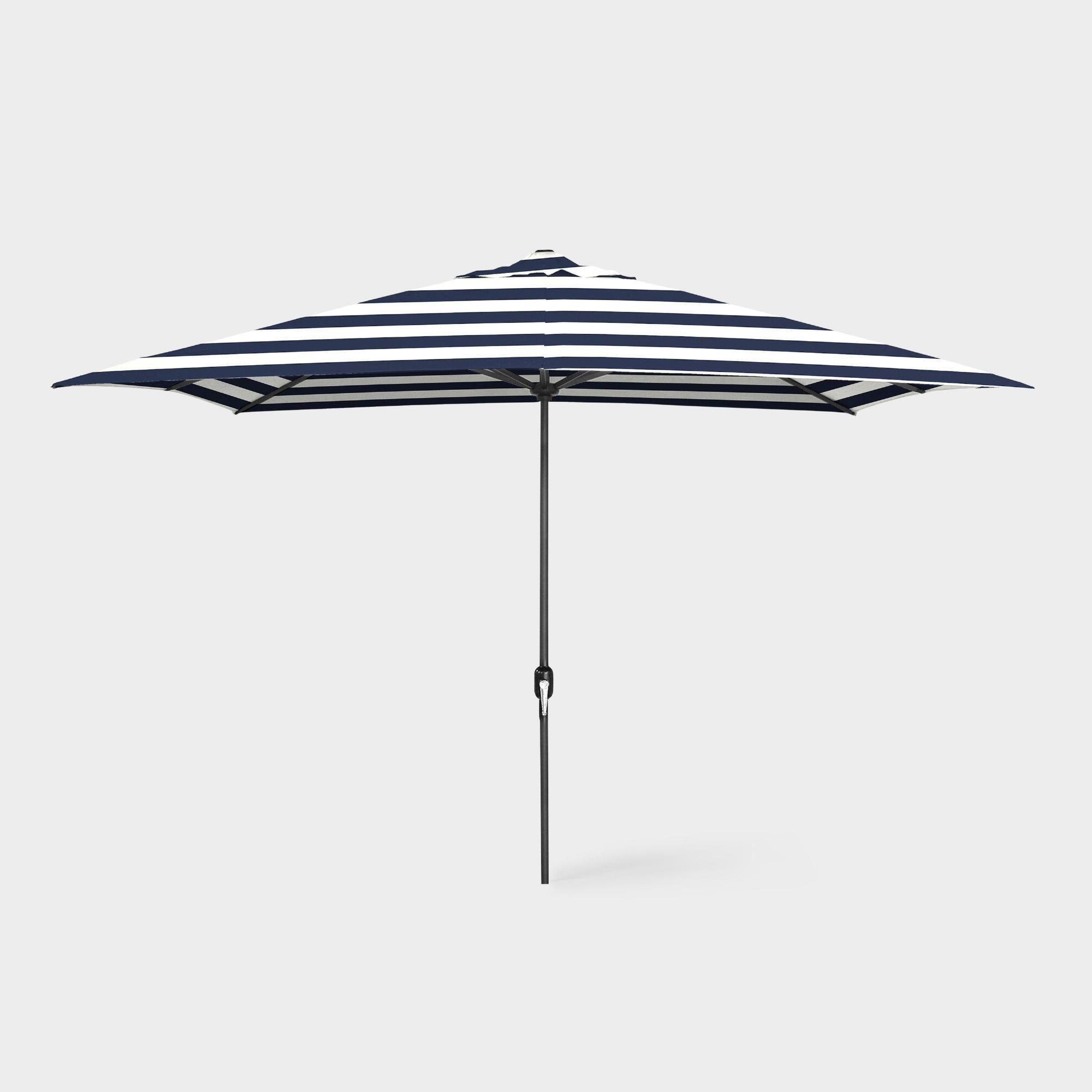 Jerrell Rectangular Market Umbrellas With Latest Best Jerrell 10' X 6.5' Rectangular Market Umbrellafreeport Park (Gallery 10 of 20)
