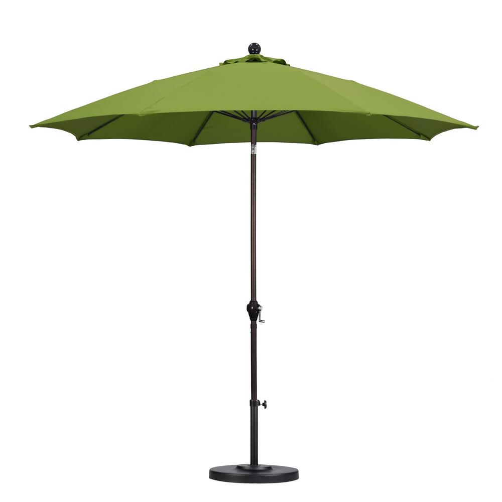 Jerrell Rectangular Market Umbrellas With Most Popular Patio Umbrella Green – Qasync – (View 13 of 20)