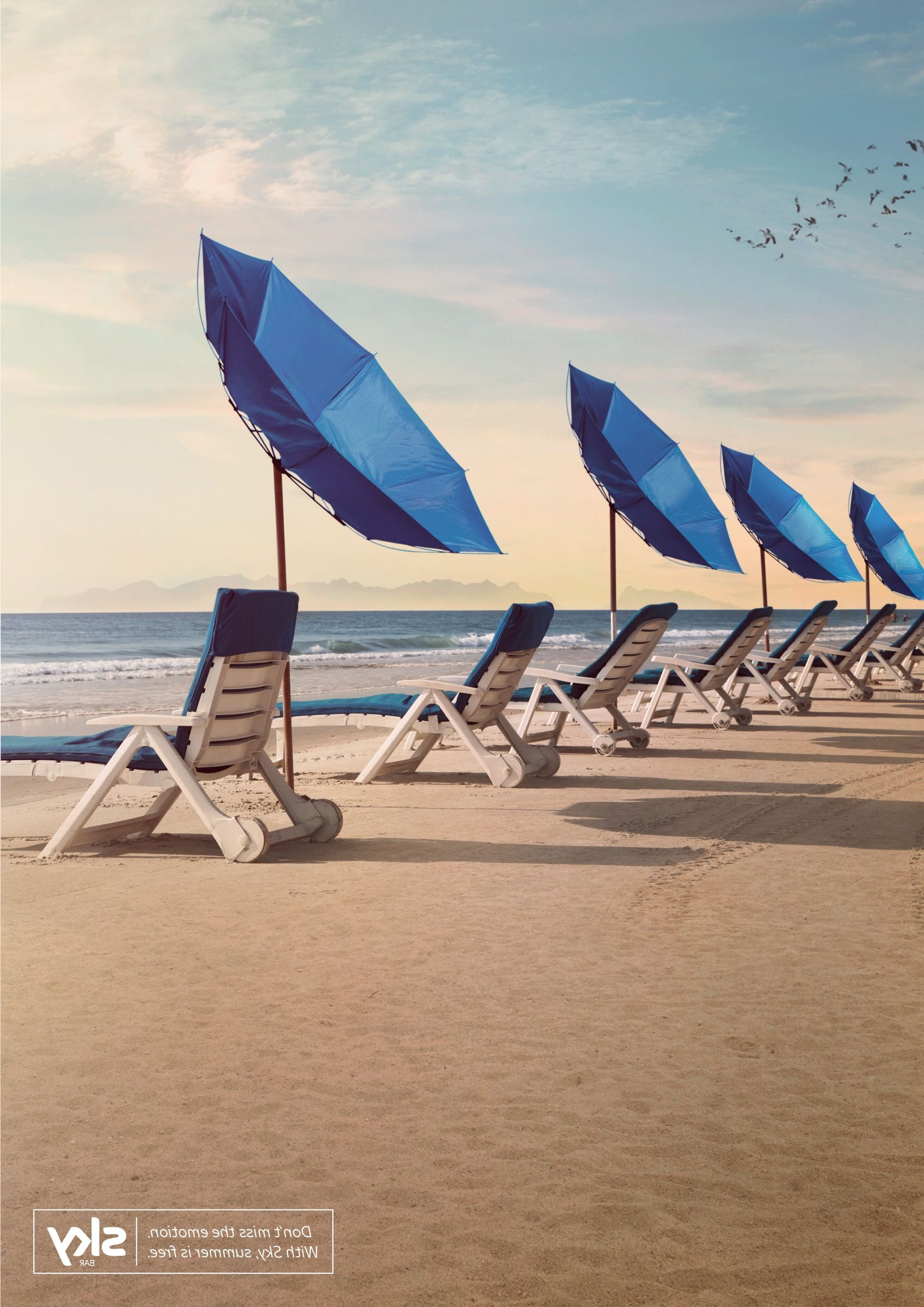 Julian Beach Umbrellas In Most Popular Sky: Beach Umbrellas (View 9 of 20)