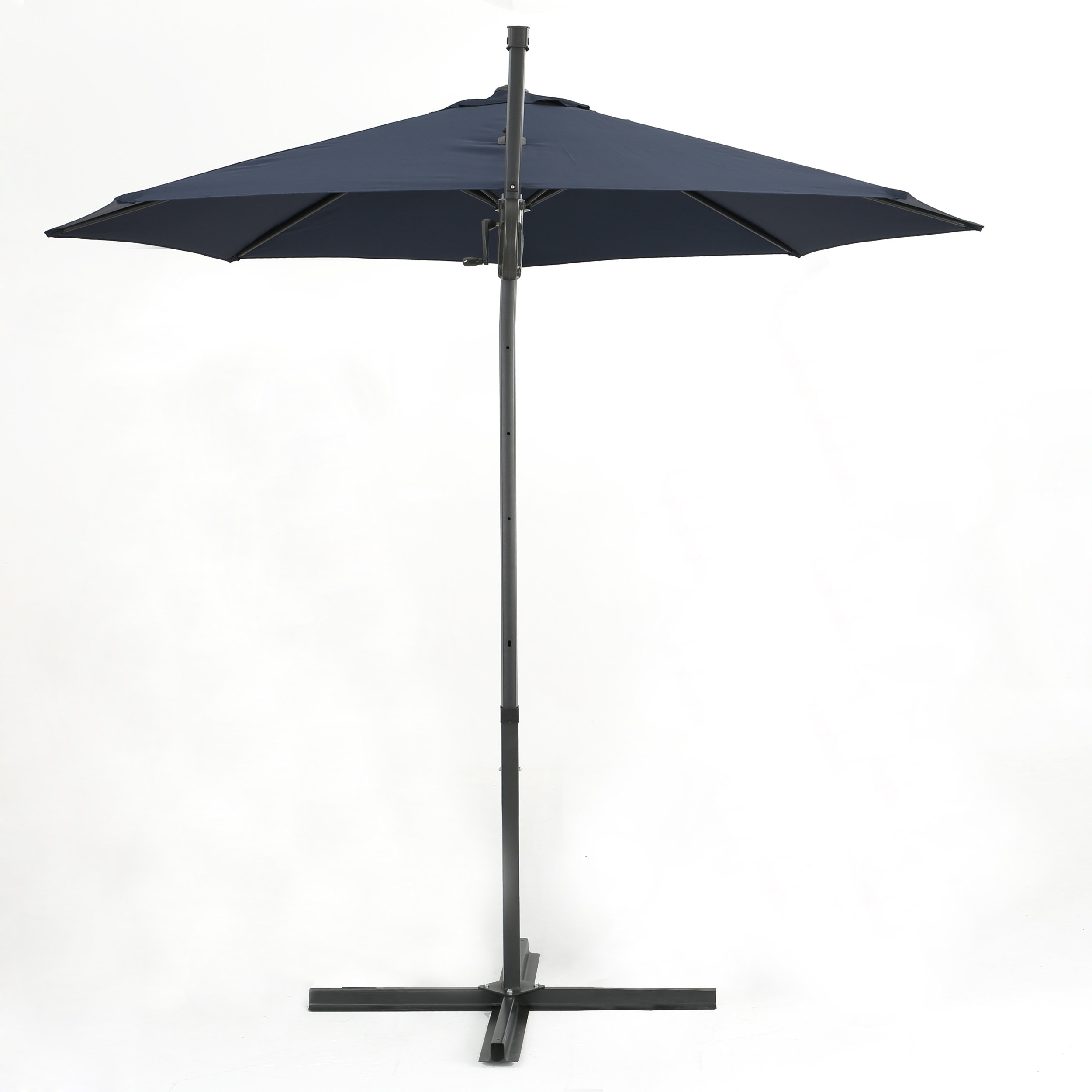 Karr Cantilever Umbrellas Throughout Most Current Jaelynn 9.5' Cantilever Umbrella & Reviews (Gallery 14 of 20)
