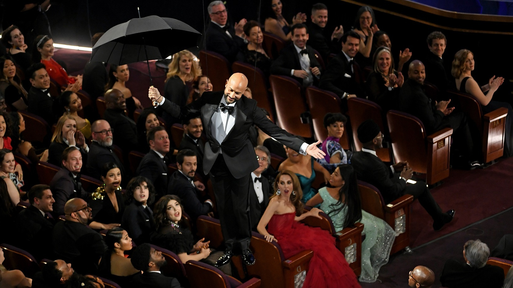 Keegan Market Umbrellas Regarding Well Liked Oscars 2019: Keegan Michael Key Takes A Dig At Trump During Academy (View 8 of 20)